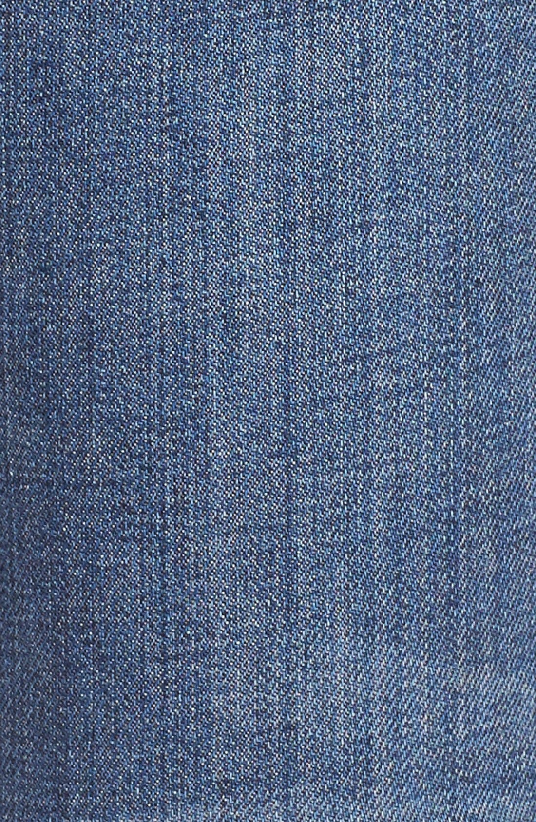 'Collector's - Blondie' Destroyed Ankle Skinny Jeans,                             Alternate thumbnail 5, color,                             410