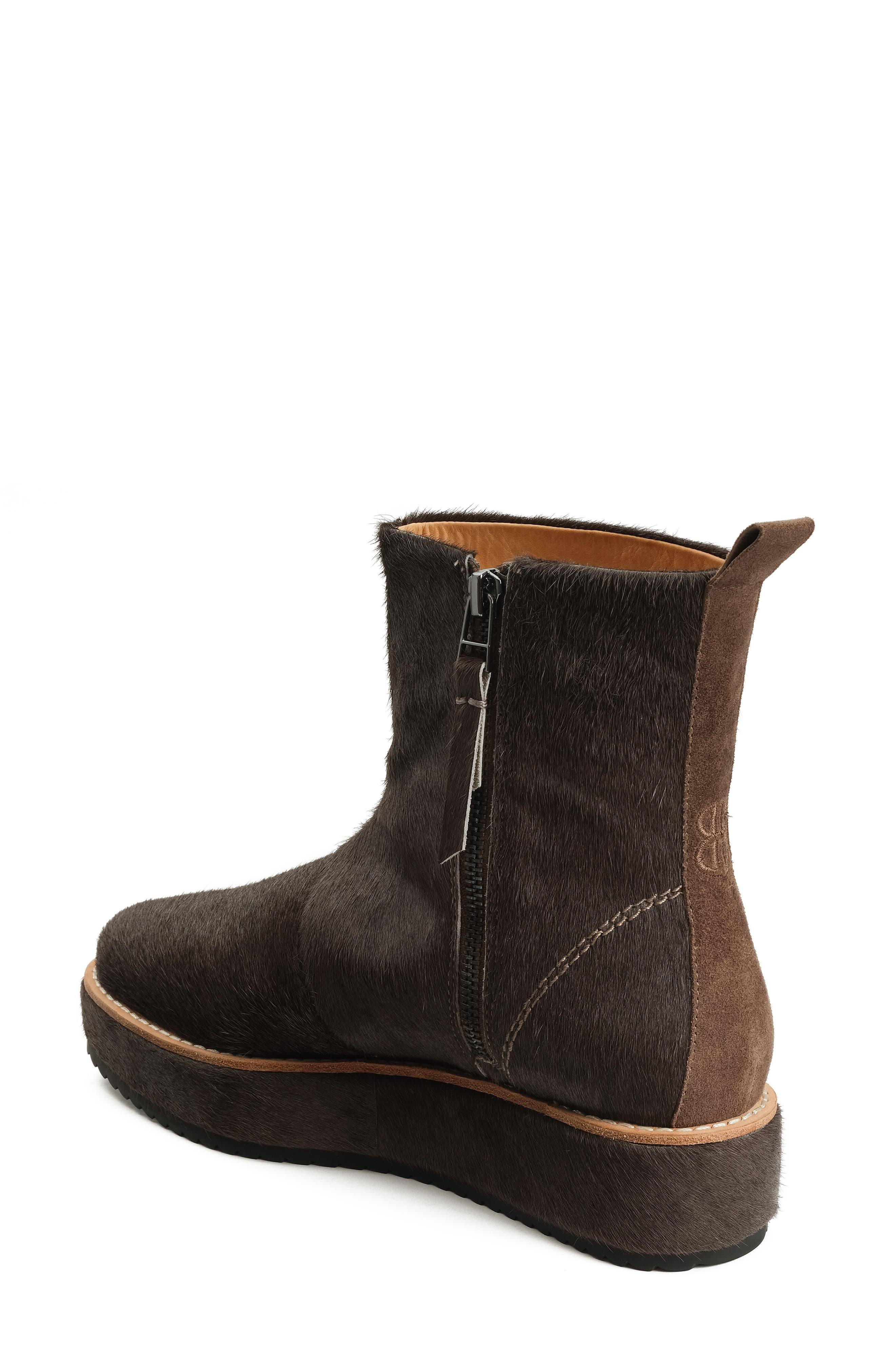 Penny Sutton Genuine Calf Hair Boot,                             Alternate thumbnail 2, color,
