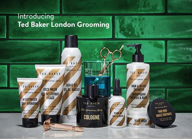 Introducing Ted Baker London grooming.