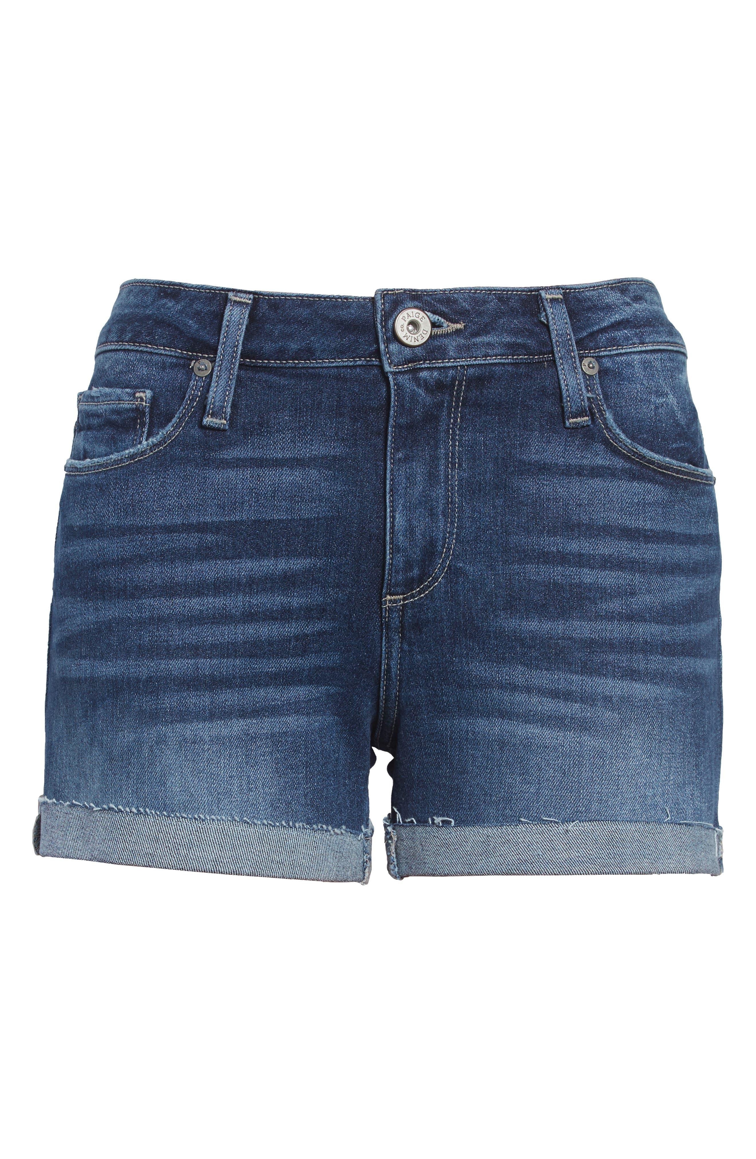 Jimmy Jimmy Raw Cuff Denim Shorts,                             Alternate thumbnail 3, color,                             KYLEN
