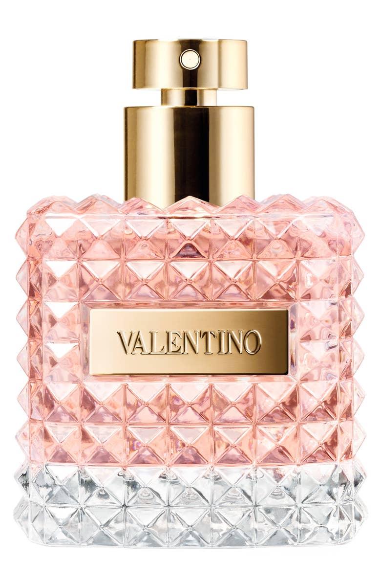 """- Y por ultimo el Perfume """"Donna"""" de Valentino: Si buscas un perfume refrescante, elegante y atemporal, perfecto para cualquier ocasión, entonces este es la mejor opción. además el frasco es una belleza. Tiene esencias de bergamot, iris, rosas y vainilla. Su precio ronda entre los $90 a $130."""