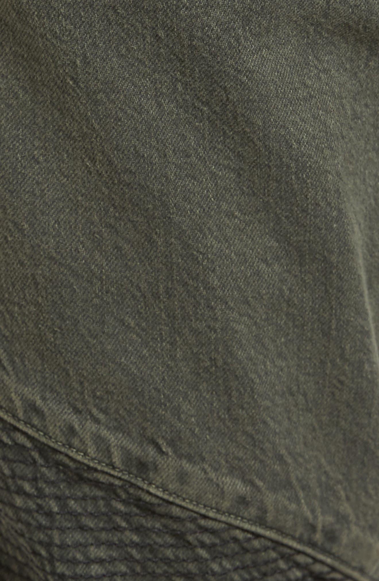 Blinder Biker Skinny Fit Jeans,                             Alternate thumbnail 5, color,                             300