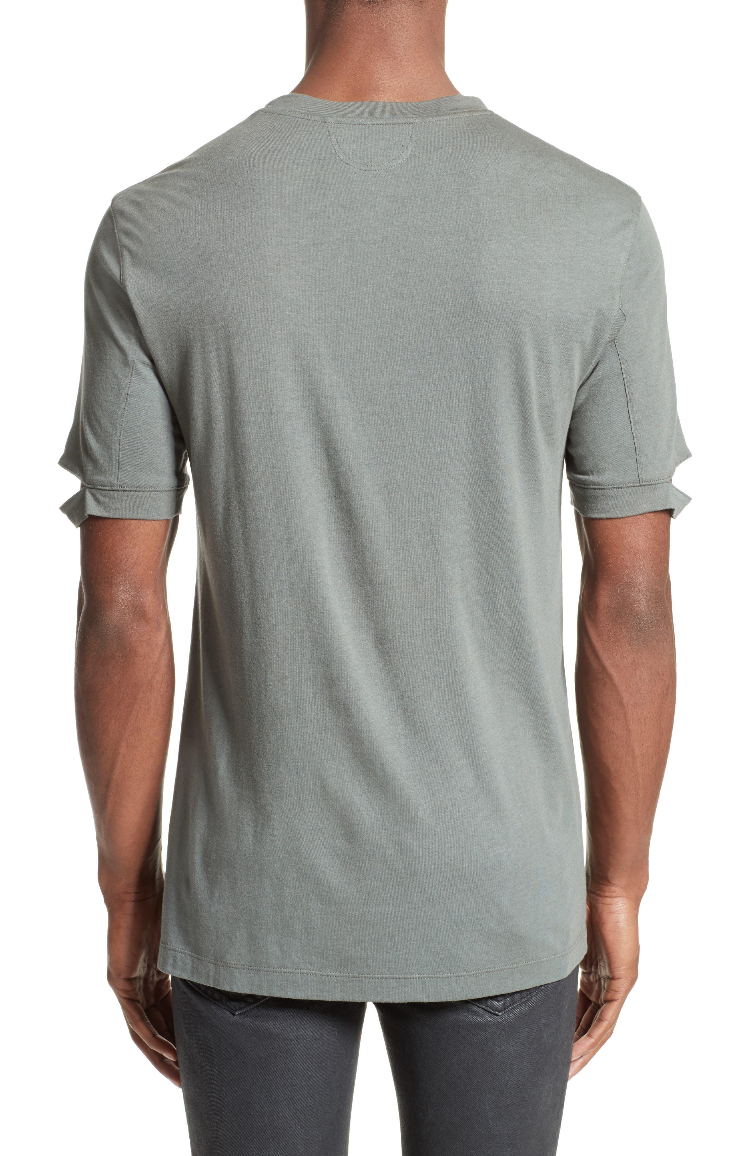 Sliced Sleeve T-Shirt,                             Alternate thumbnail 2, color,                             381