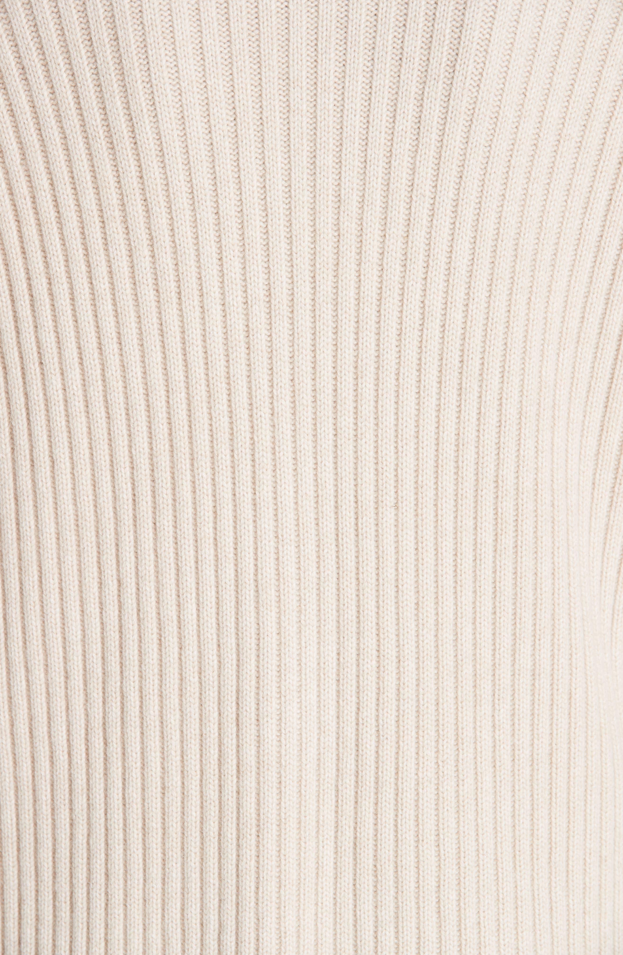 Lia Cashmere & Merino Wool Sweater,                             Alternate thumbnail 6, color,                             SAND
