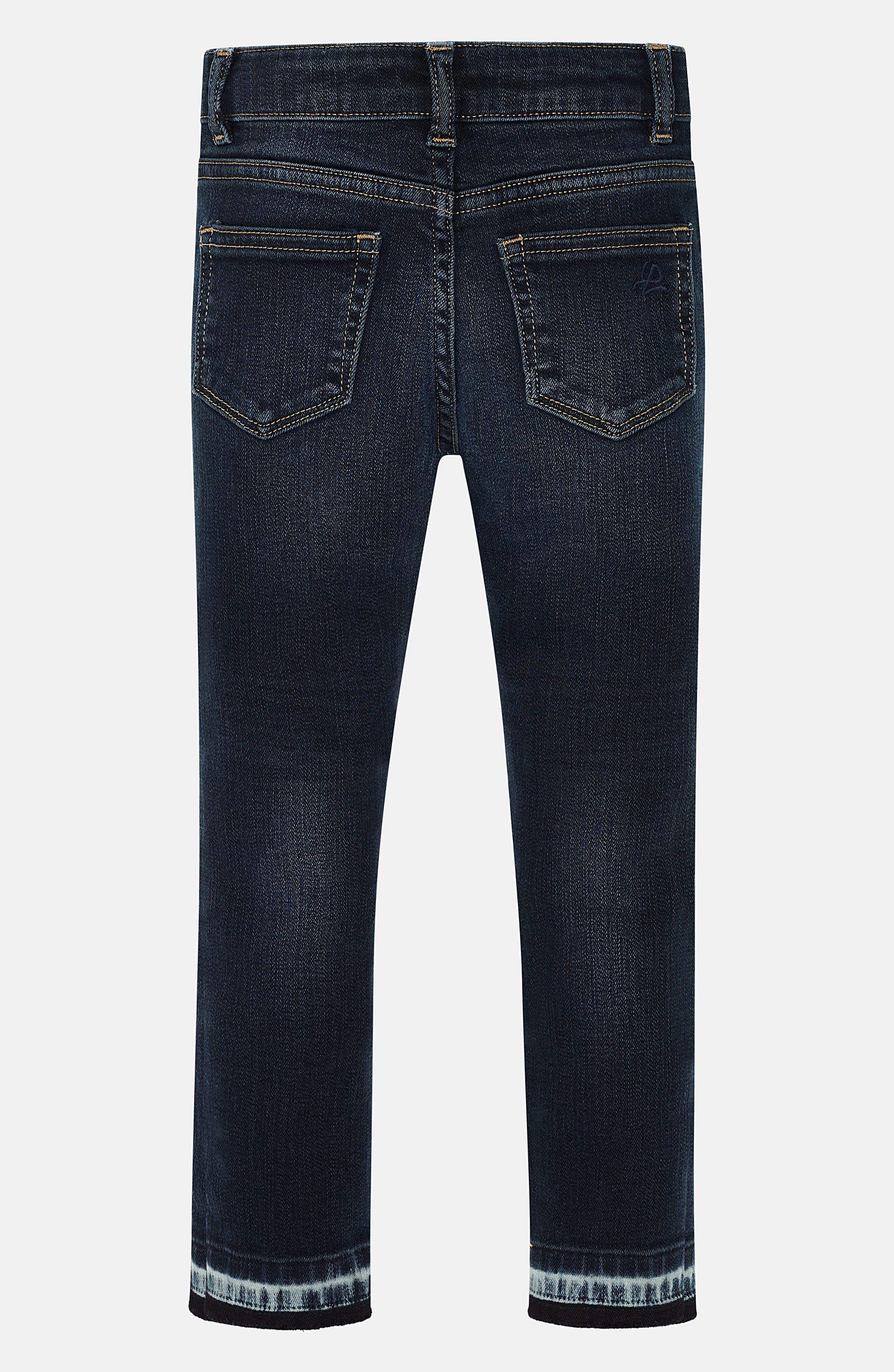 Chloe Distressed Skinny Jeans,                             Alternate thumbnail 2, color,                             401
