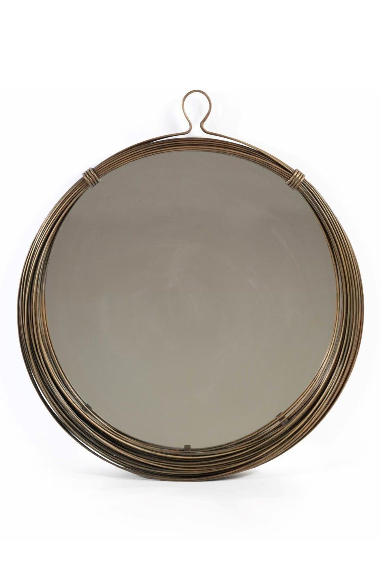 Round Wall Mirror,                             Main thumbnail 1, color,                             200