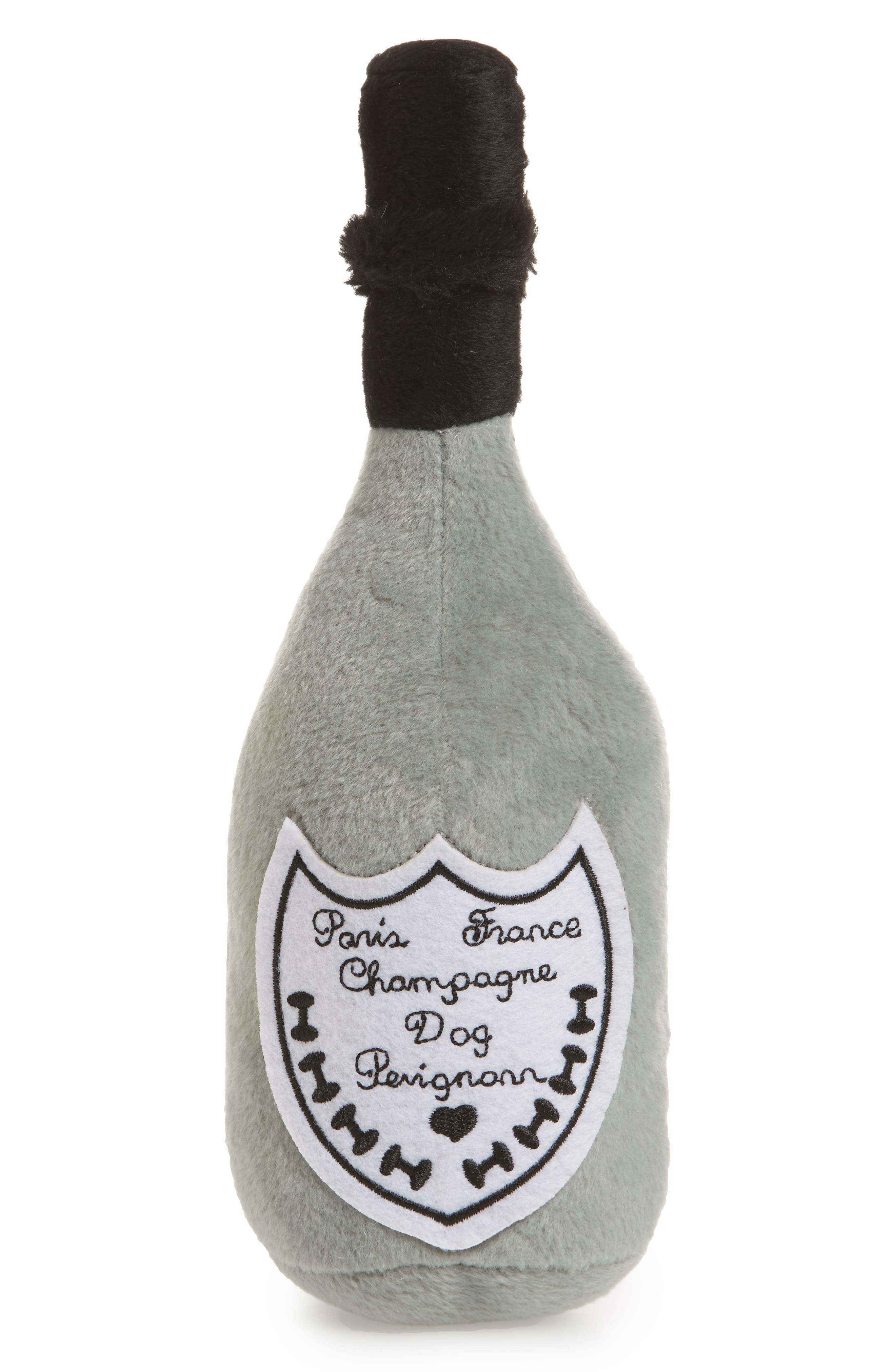 Dog Perignonn Champagne Plush Dog Toy, Main, color, 020