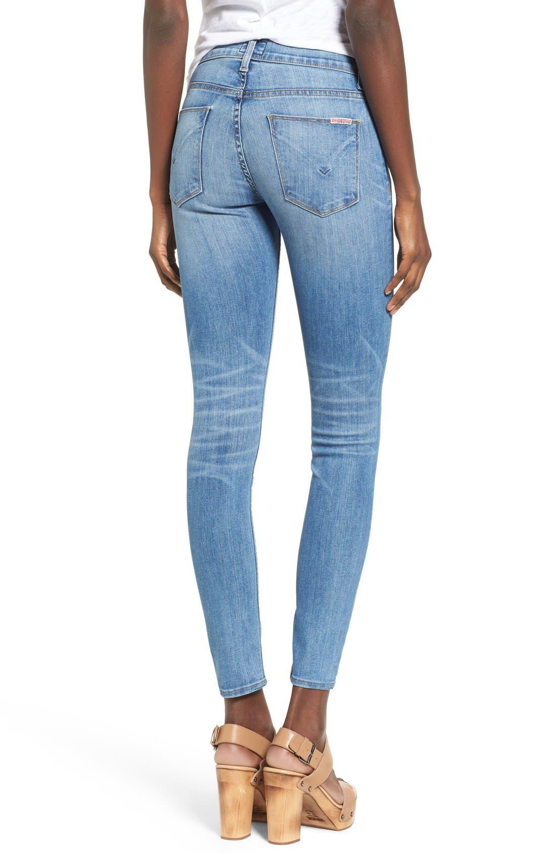 'Nico' Super Skinny Jeans,                             Alternate thumbnail 12, color,