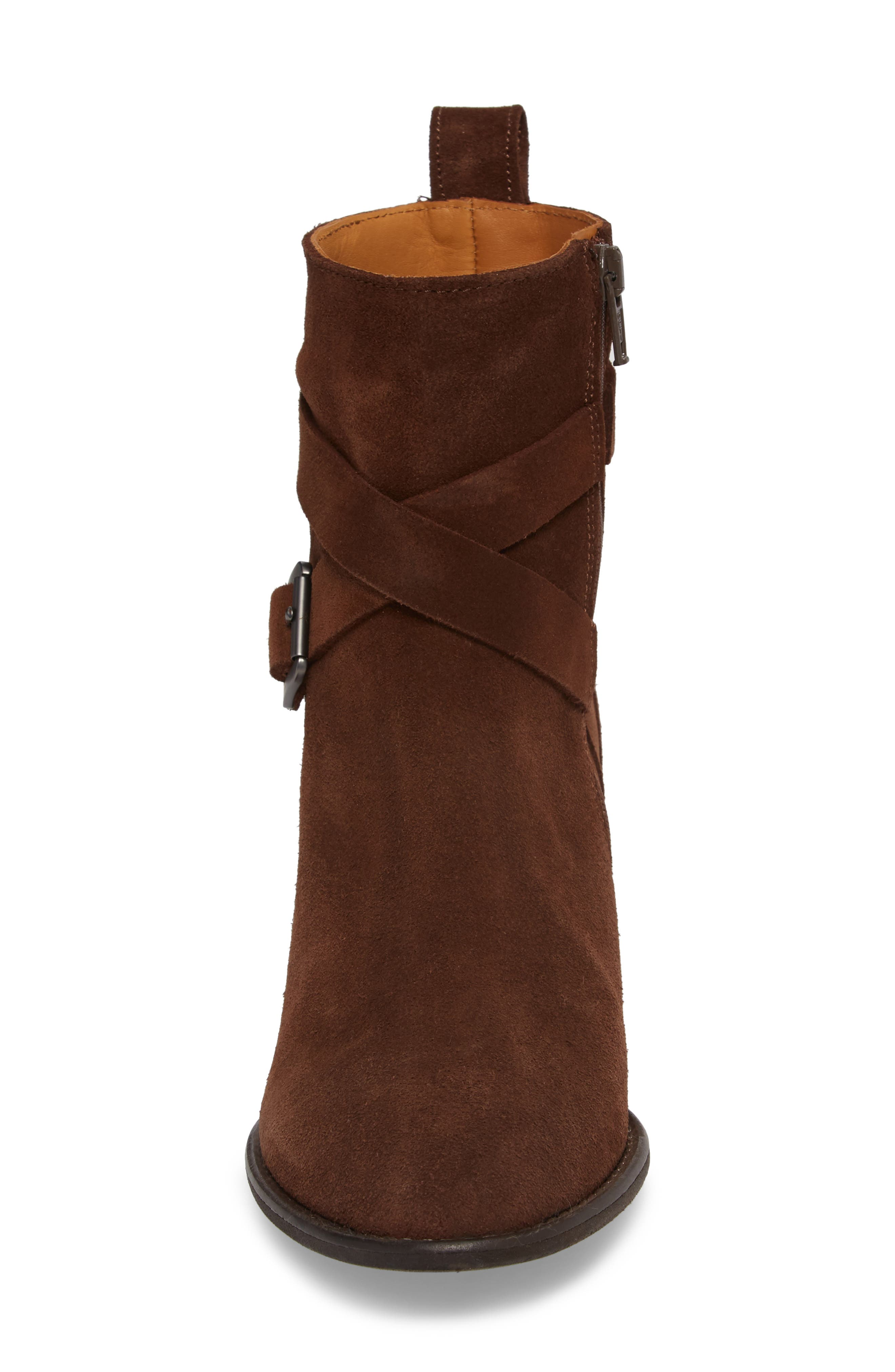Refined Water Resistant Strappy Boot,                             Alternate thumbnail 7, color,