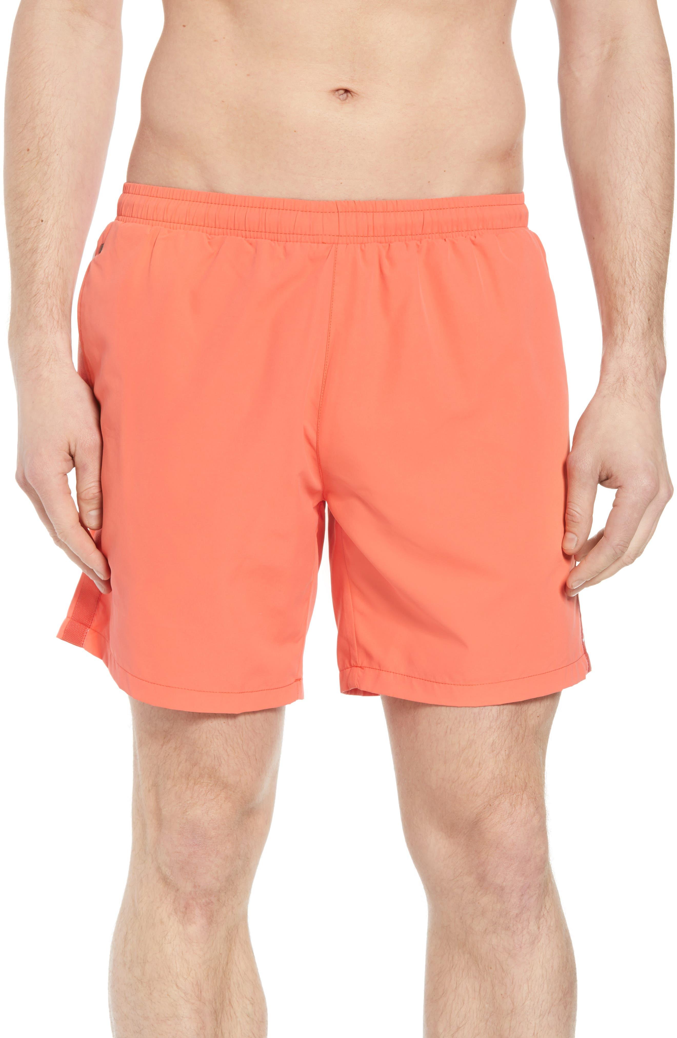 Seabream Regular Fit Stripe Swim Trunks,                         Main,                         color, 633