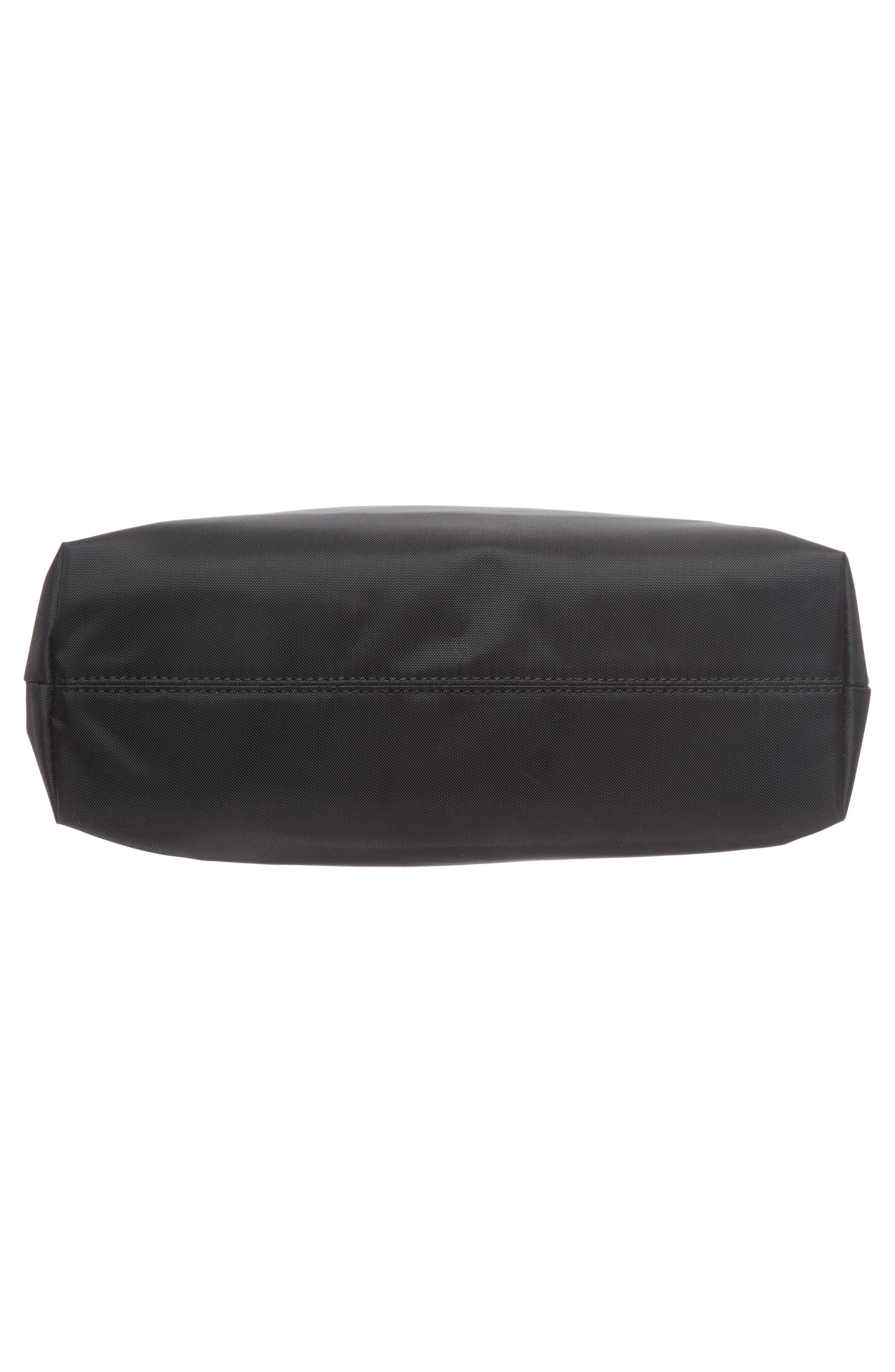 Halogen Nylon Crossbody Bag,                             Alternate thumbnail 6, color,                             001