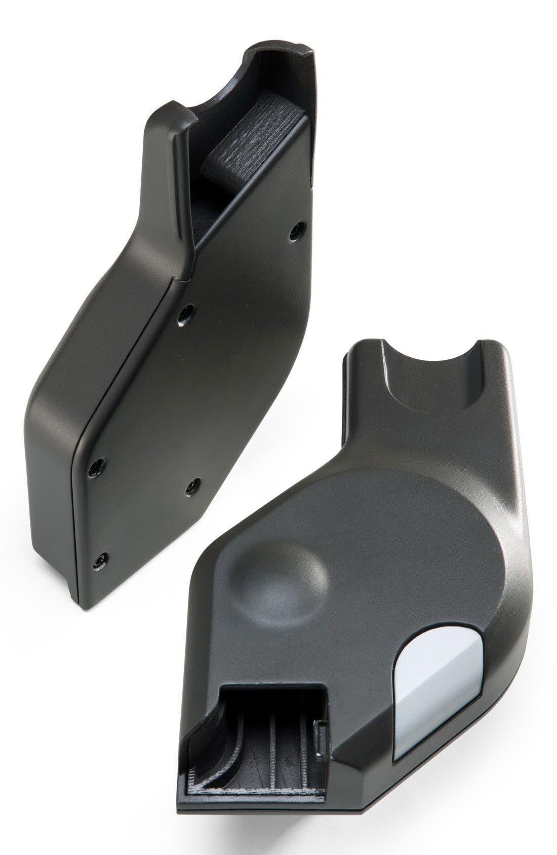 'Xplory<sup>®</sup>' & Stokke 'Scoot' Car Seat Adaptor for Maxi Cosi & Nuna,                         Main,                         color, DARK GREY