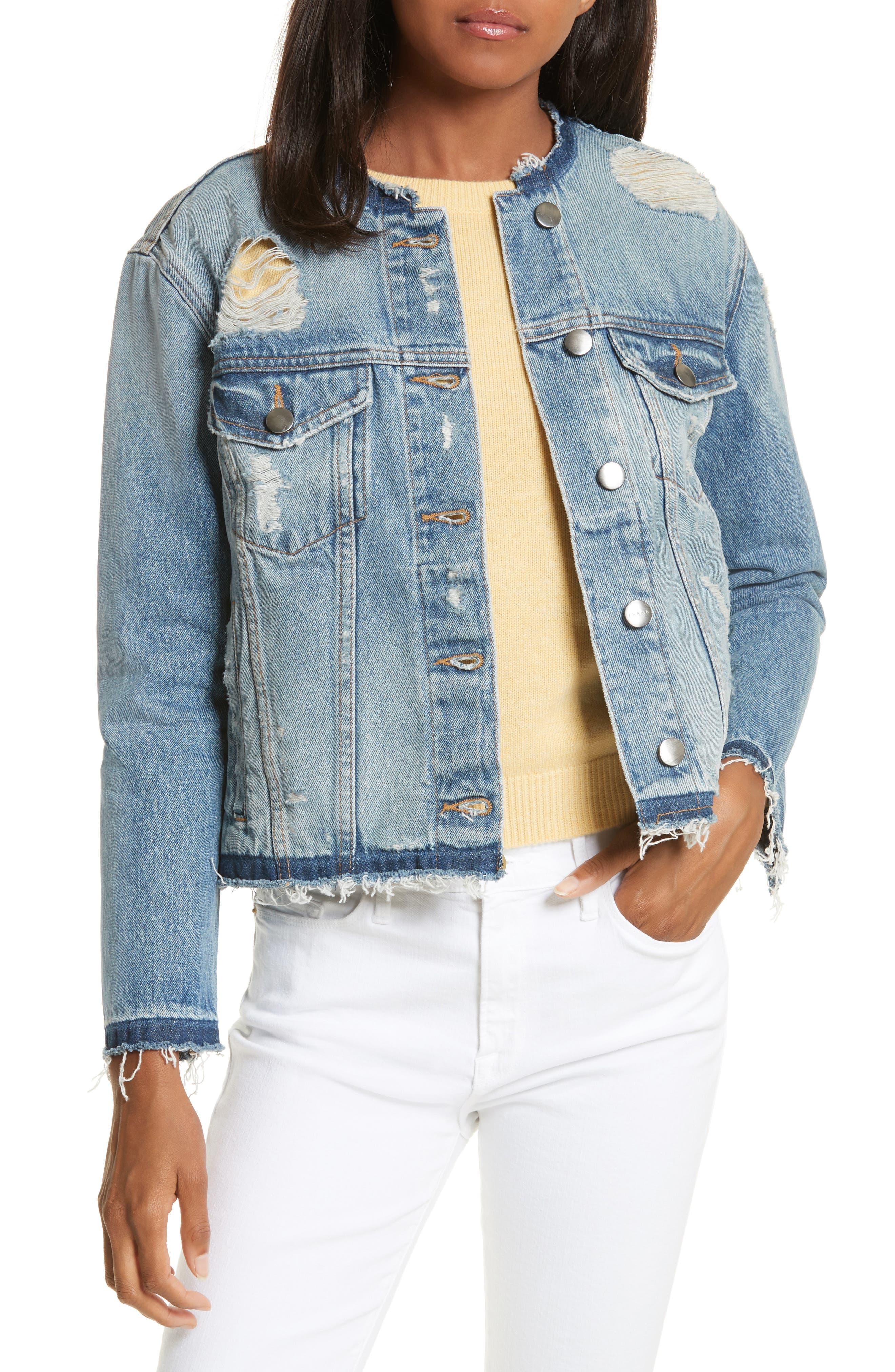 Re-Release Le Rigid Denim Jacket,                         Main,                         color,