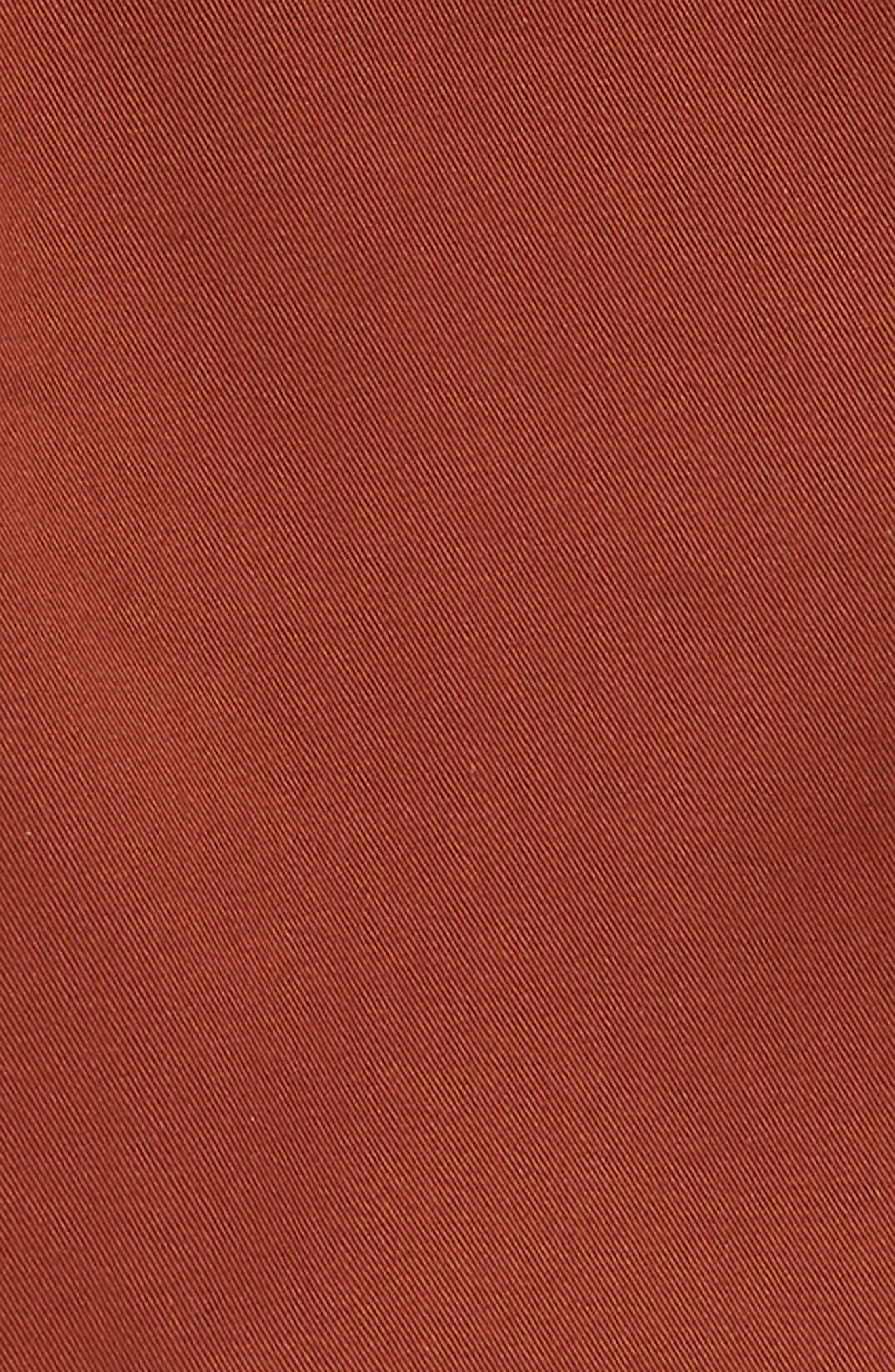 Authentic Stretch Twill Shorts,                             Alternate thumbnail 2, color,                             SEQUOIA