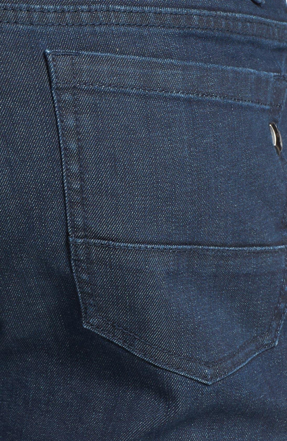 'Esher' Enzyme Wash Straight Leg Jeans,                             Alternate thumbnail 3, color,                             417