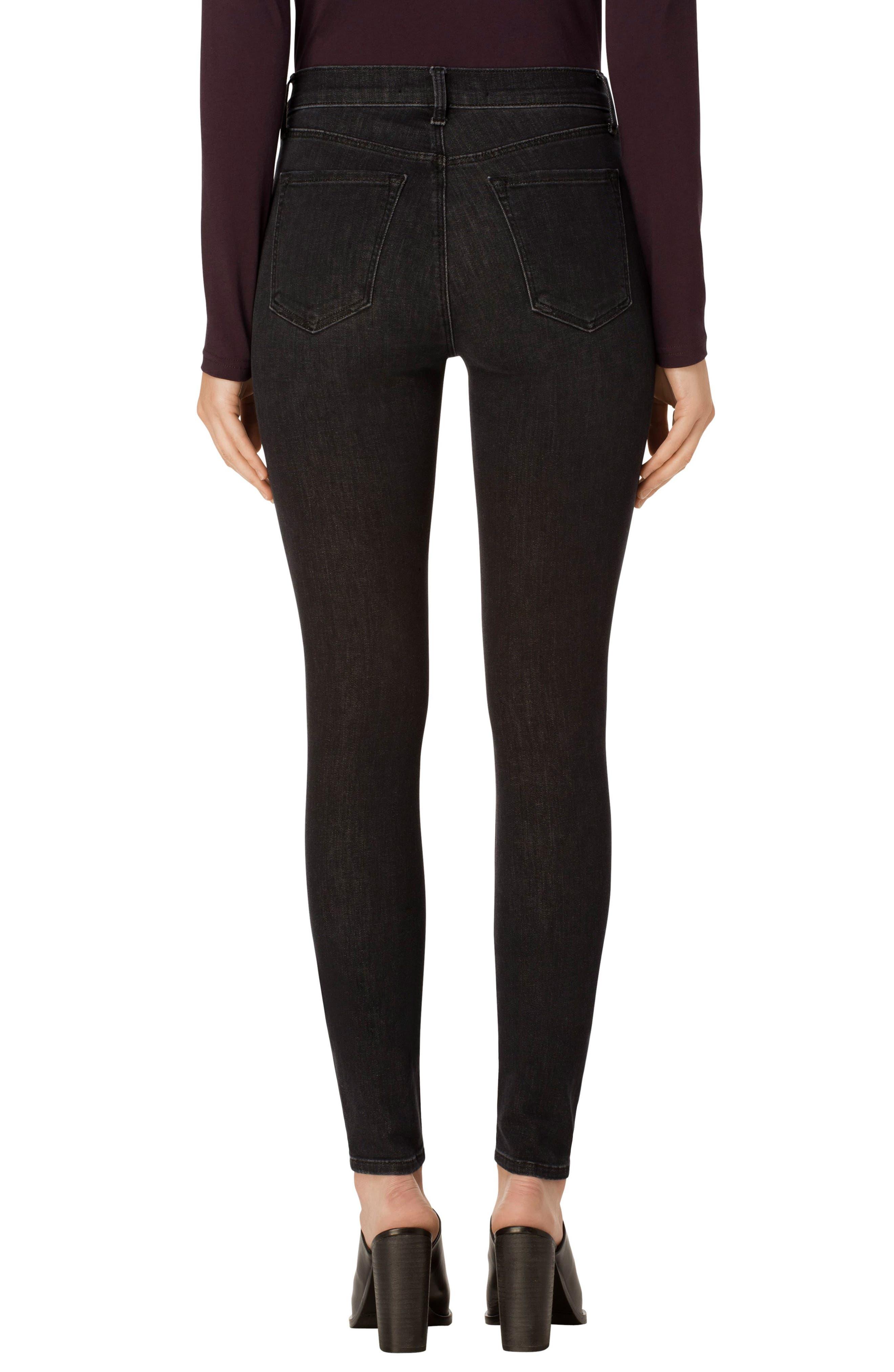 Maria High Waist Skinny Jeans,                             Alternate thumbnail 7, color,