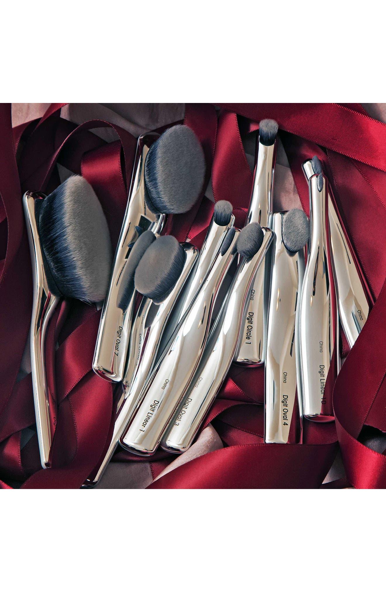 The Digit 10 Brush Set in Luxury Case,                             Alternate thumbnail 4, color,                             000