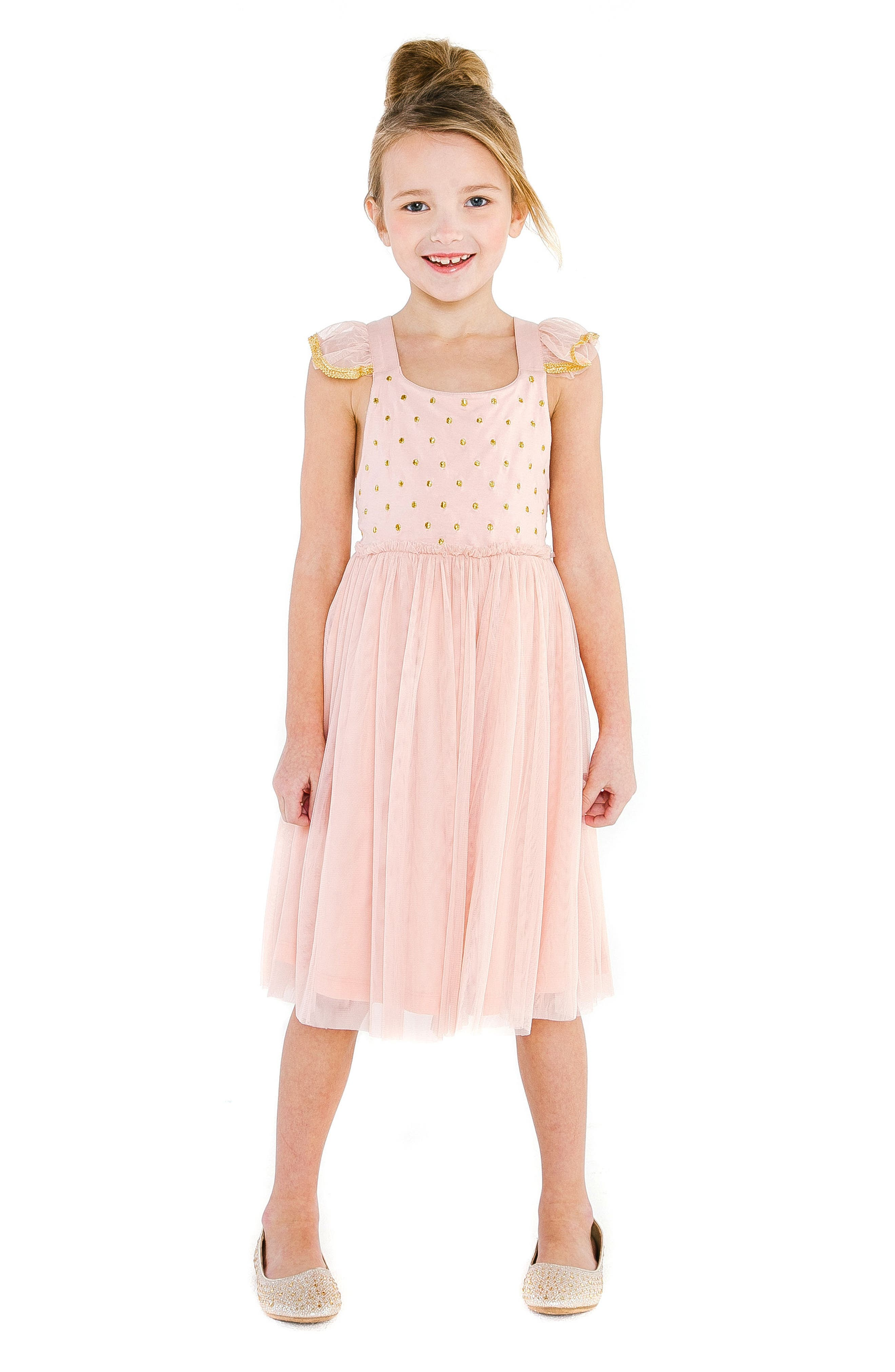 Diya Tulle Sundress,                             Alternate thumbnail 3, color,
