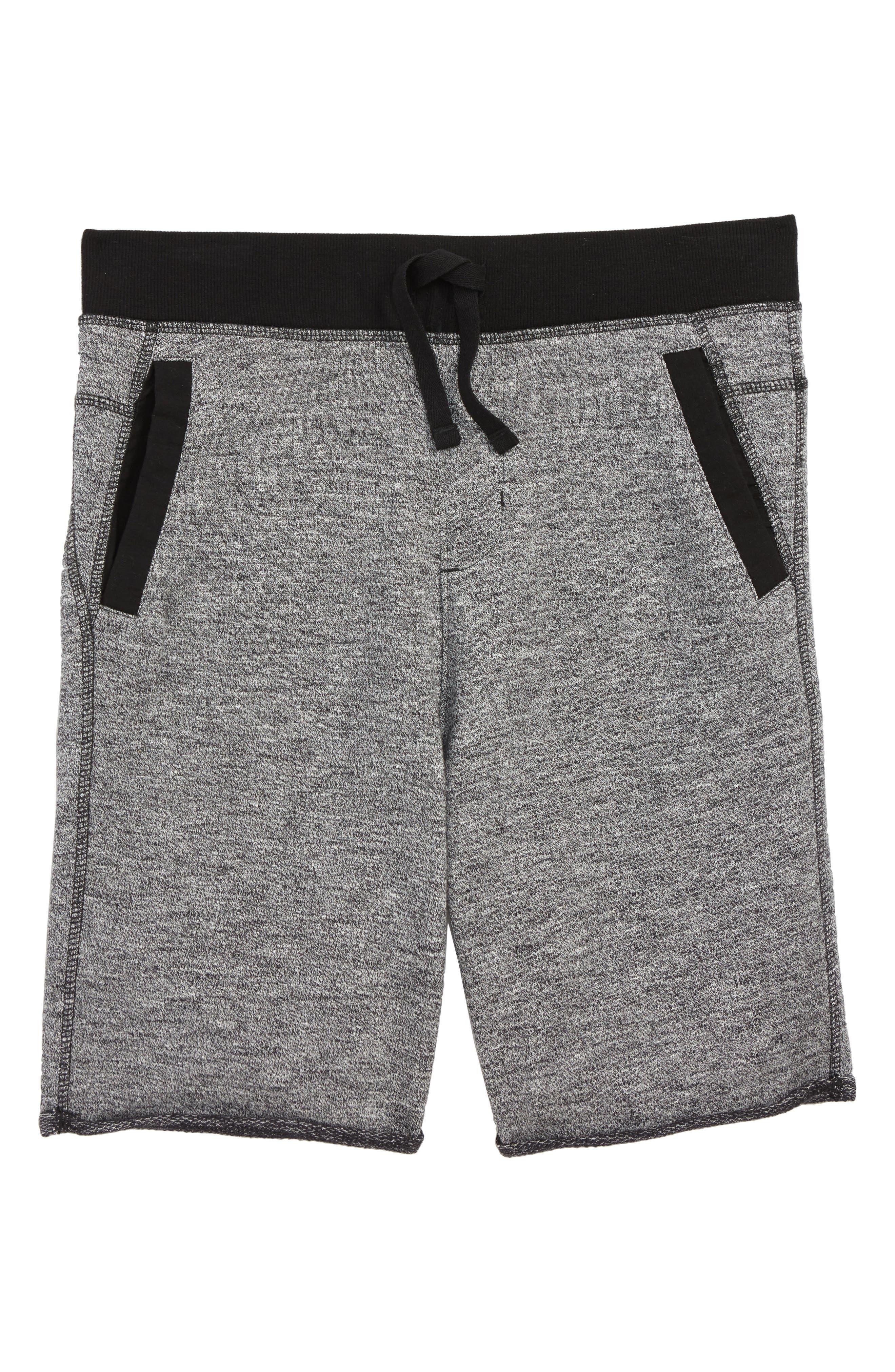 Fleece Knit Shorts,                         Main,                         color, 030