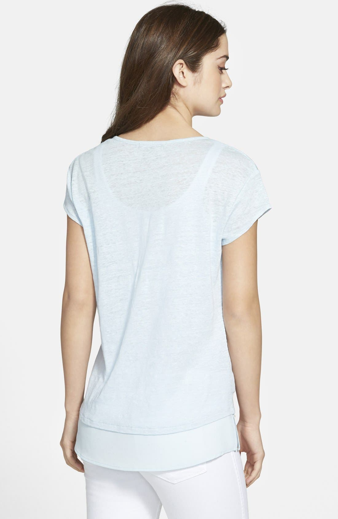 City Mix Layered Look Tee,                             Alternate thumbnail 60, color,