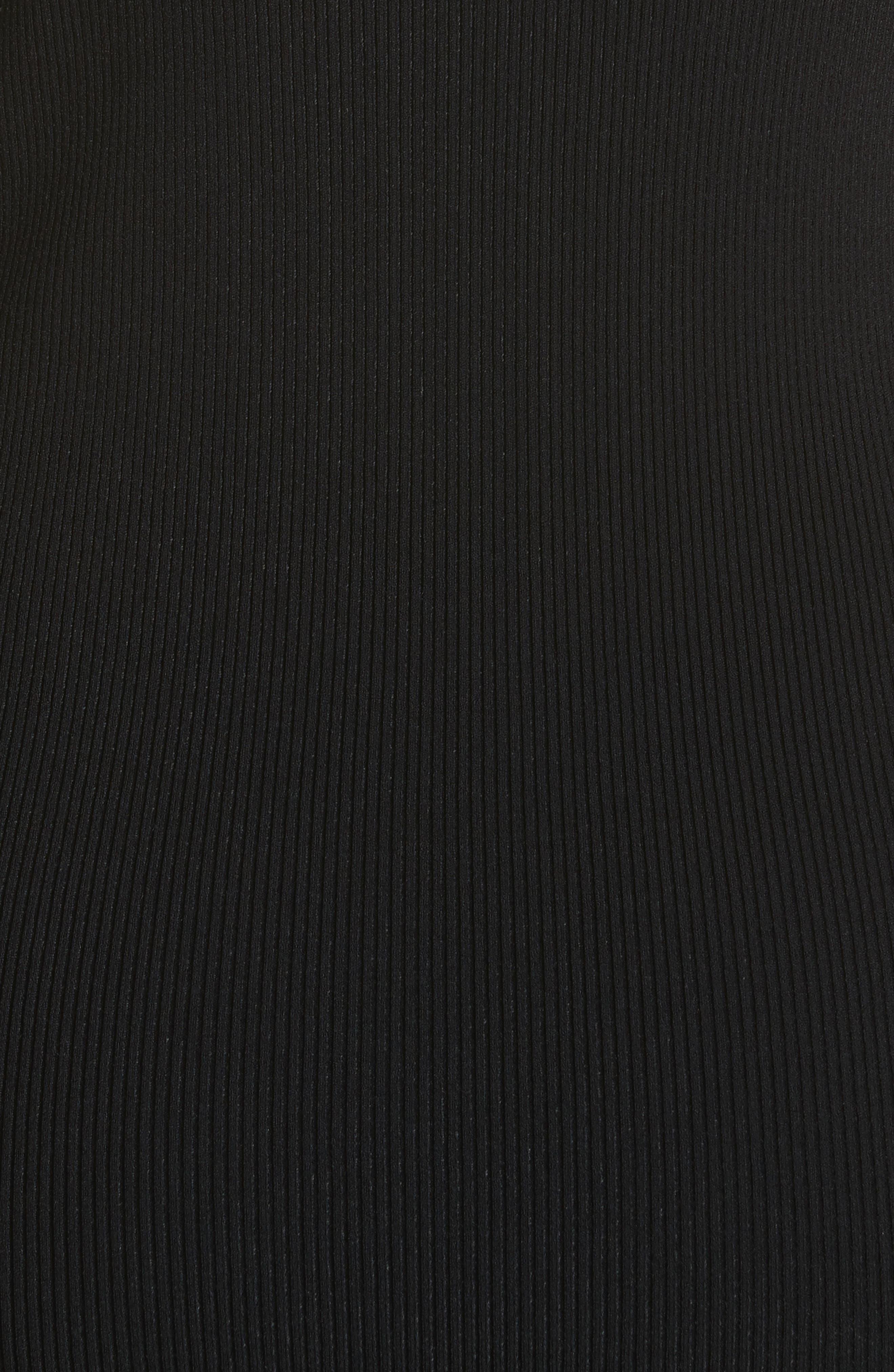 Cold Shoulder Body-Con Dress,                             Alternate thumbnail 5, color,
