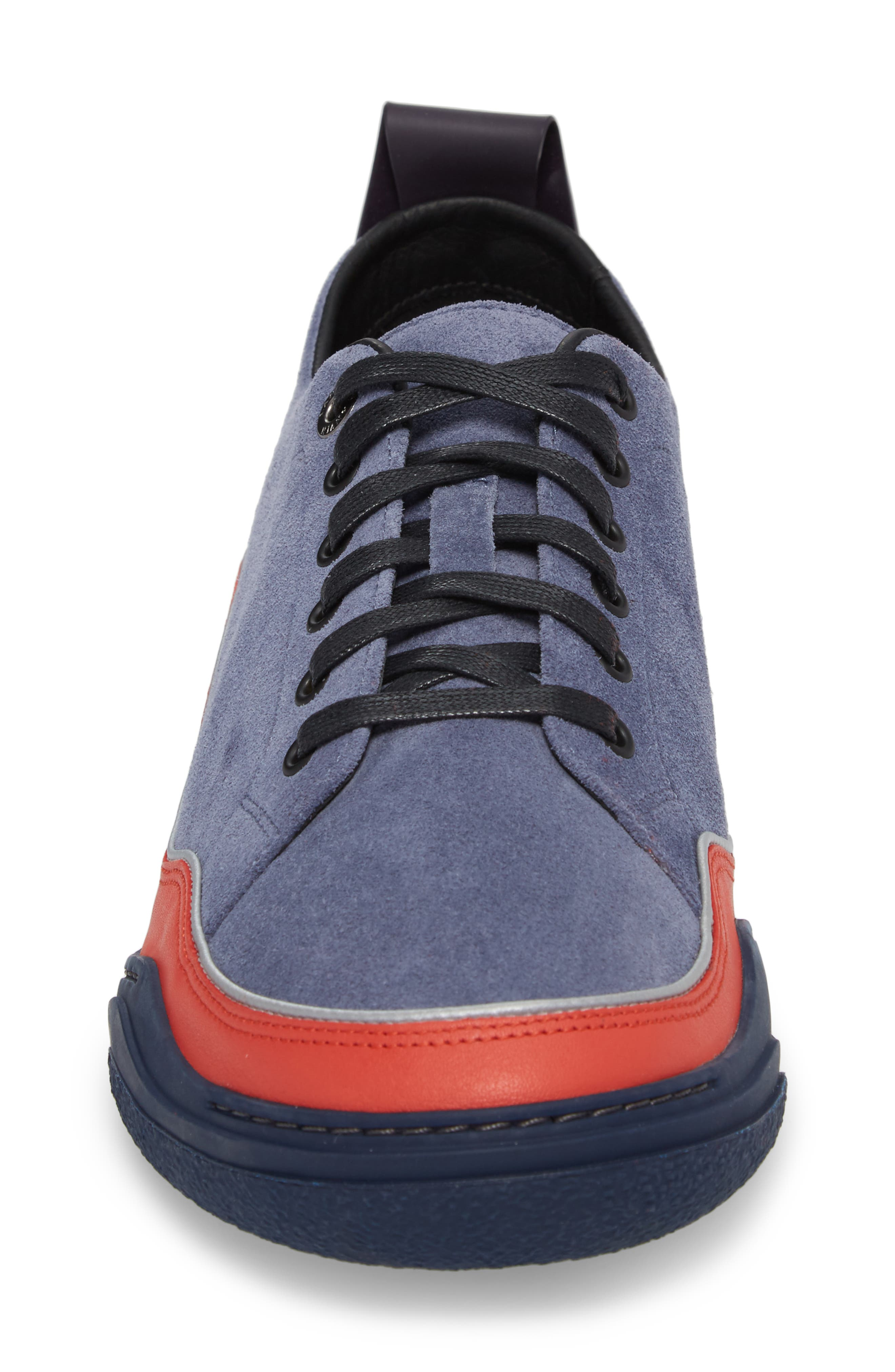 LANVIN,                             Diving Sneaker,                             Alternate thumbnail 4, color,                             450