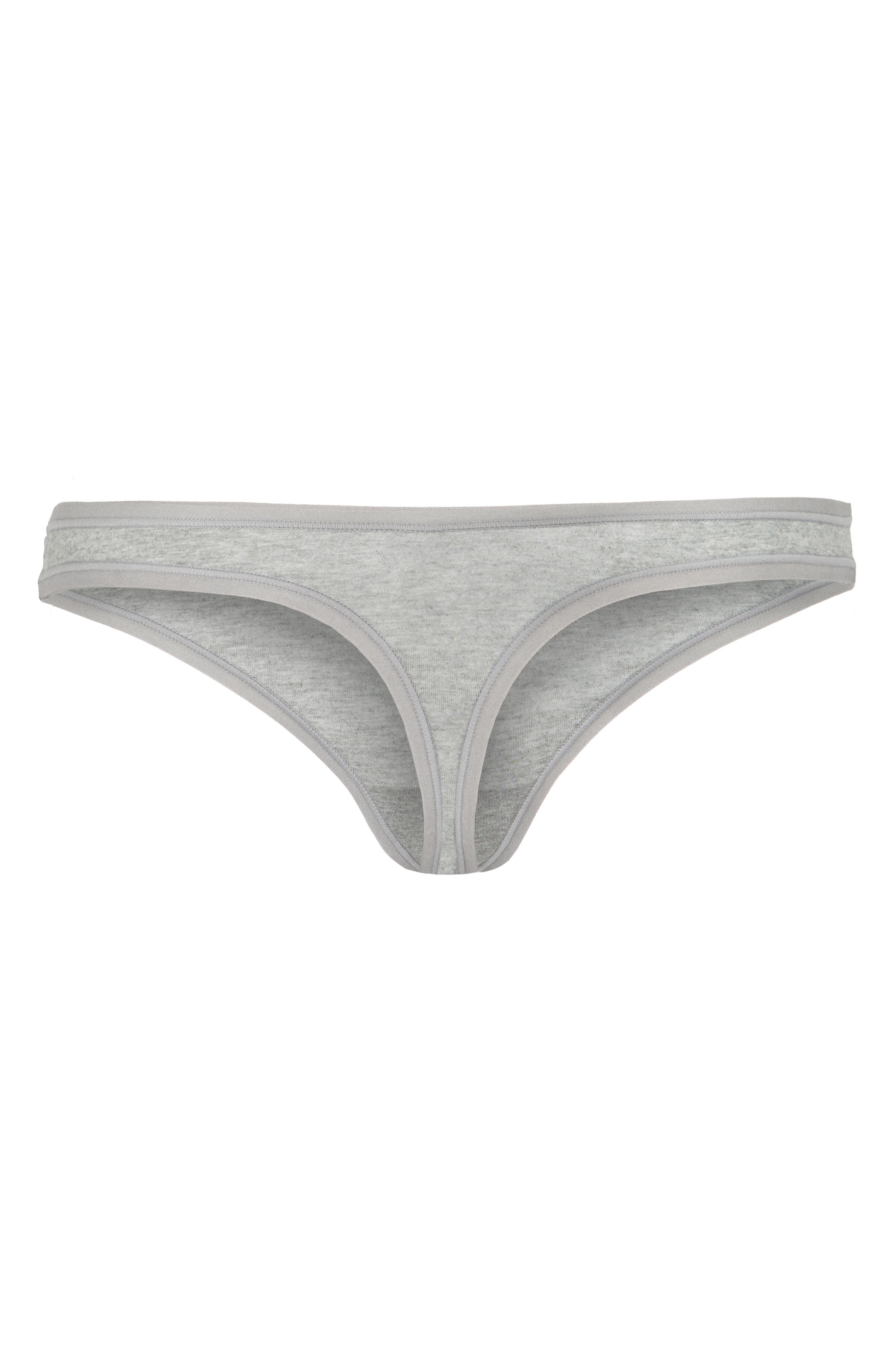 The All Day Thong,                             Alternate thumbnail 3, color,                             HEATHER GREY