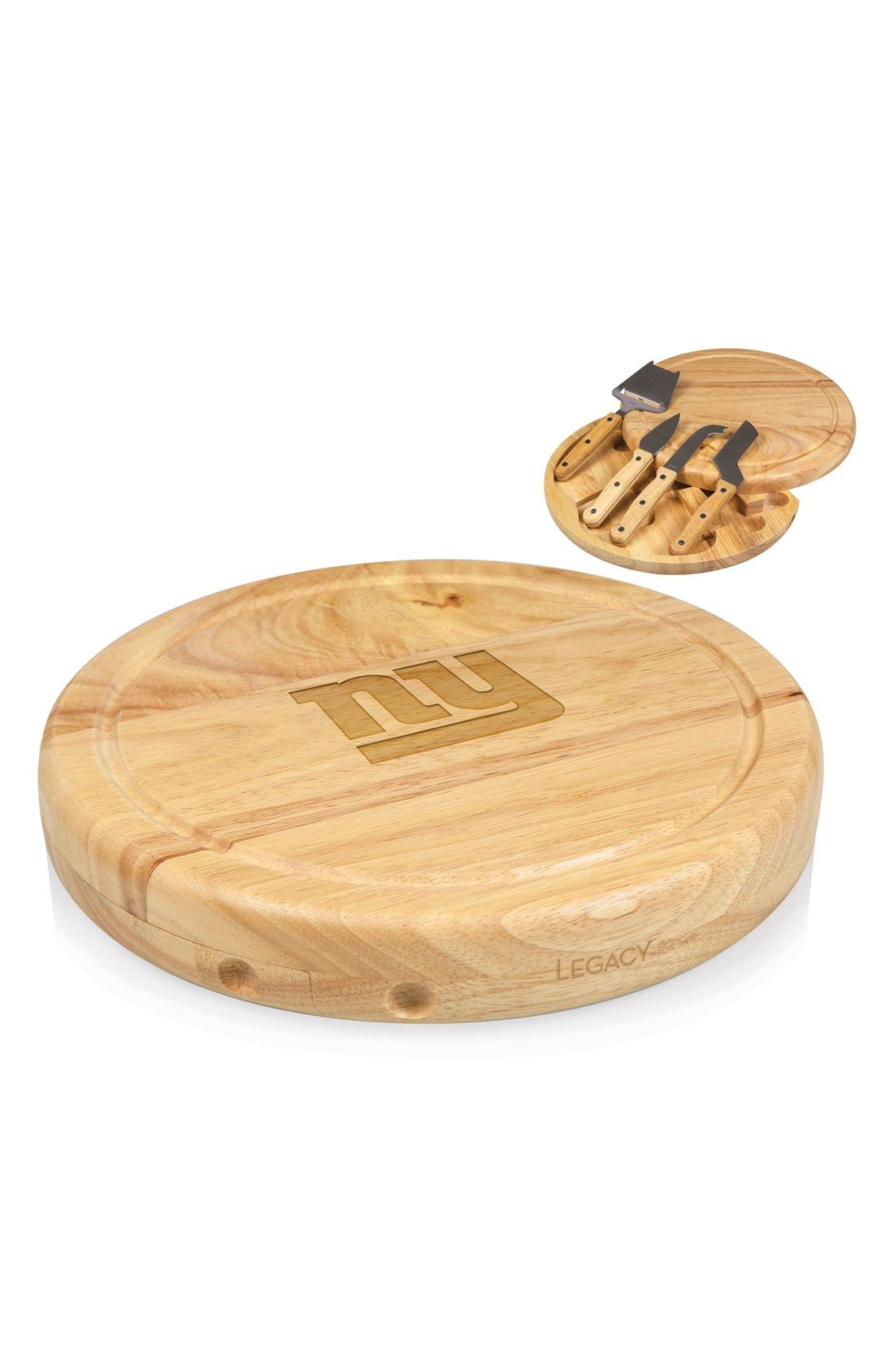 'Circo' 5-Piece NFL Engraved Cheese Board & Knives Set,                             Alternate thumbnail 3, color,                             220