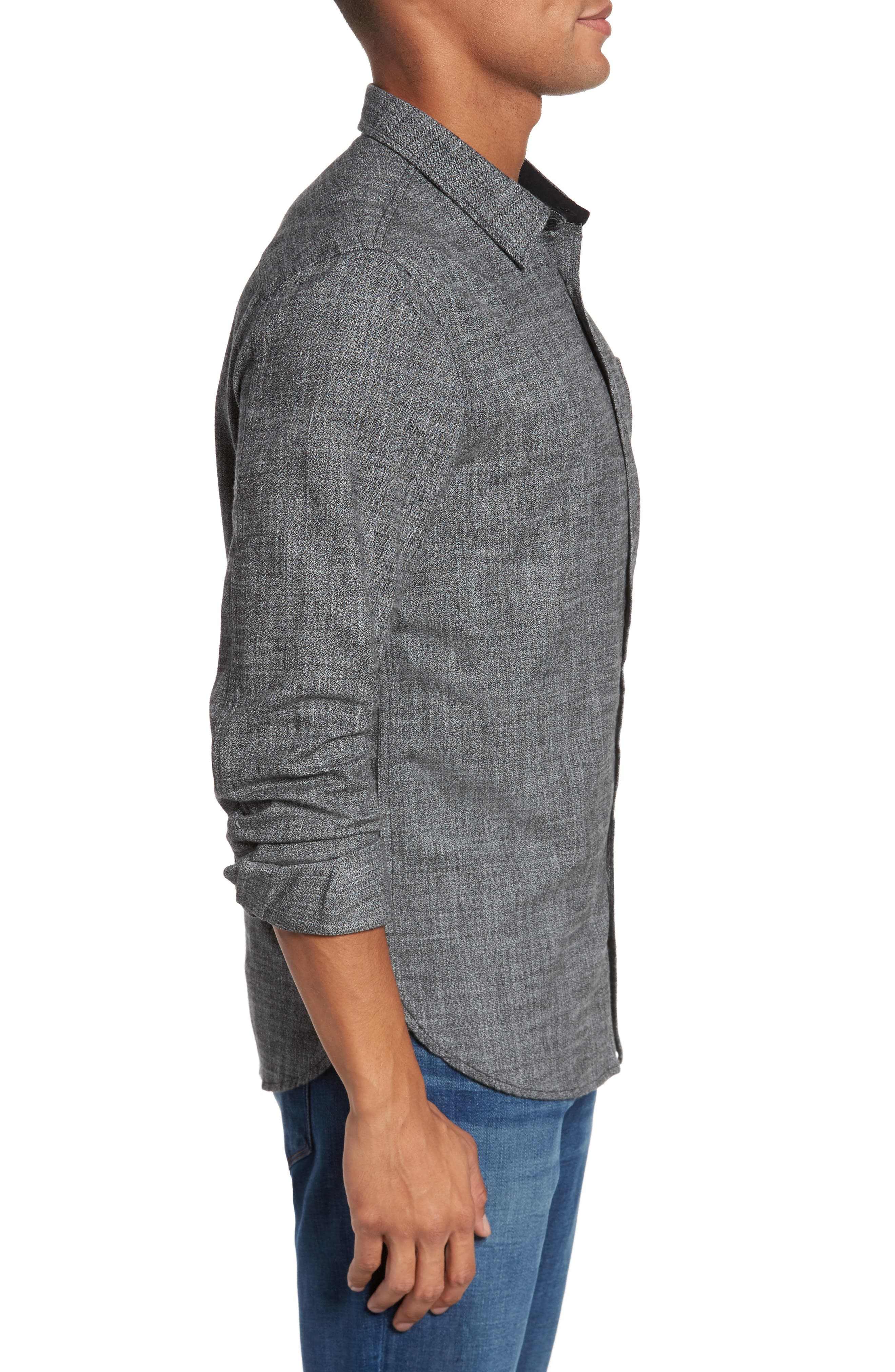 Colton Slim Fit Sport Shirt,                             Alternate thumbnail 3, color,                             031