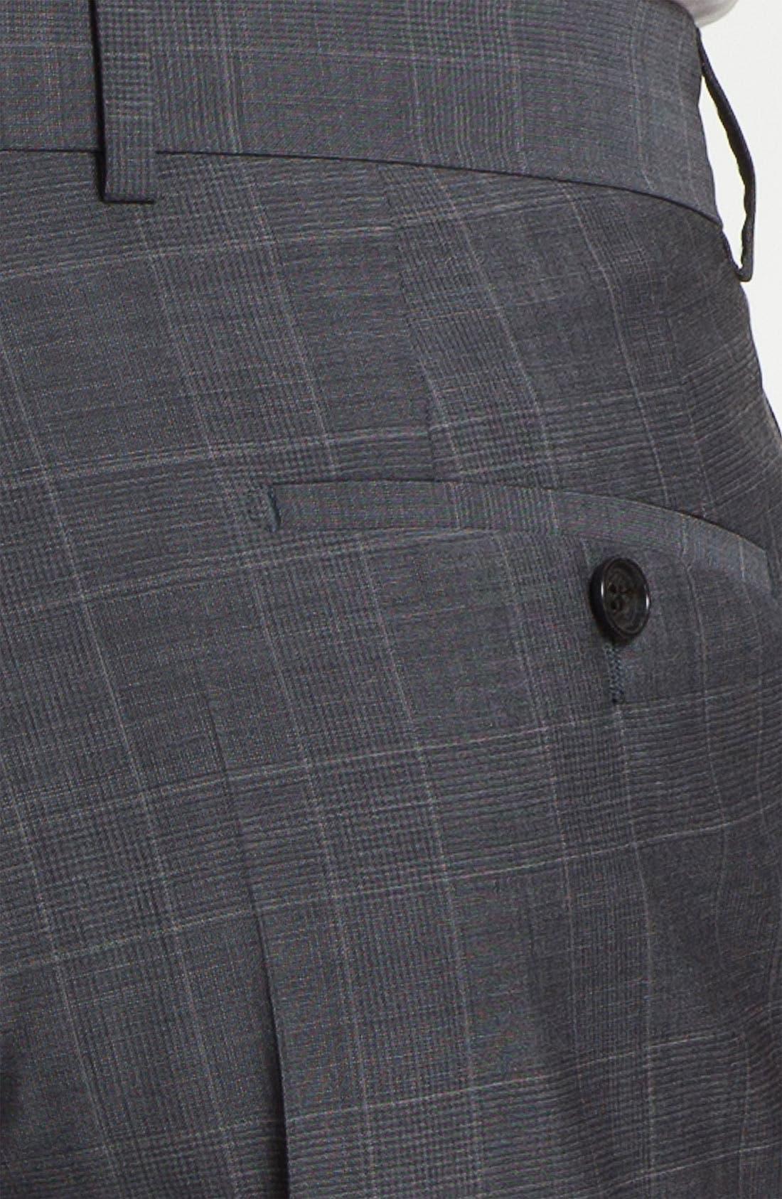 BOSS Black 'Pasini/Movie' Plaid Suit,                             Alternate thumbnail 2, color,                             030