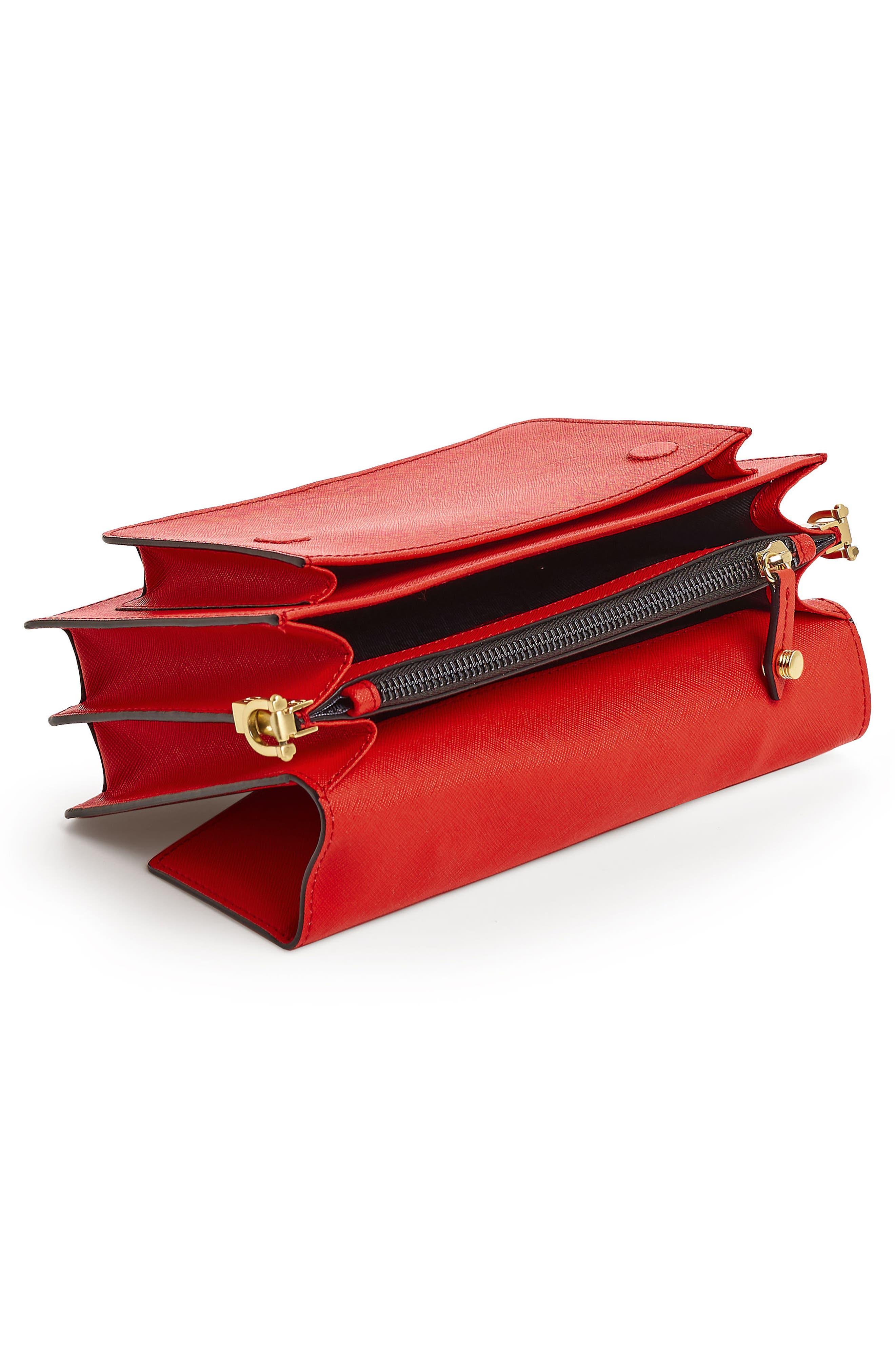 Cobble Hill Leather Crossbody Bag,                             Alternate thumbnail 90, color,