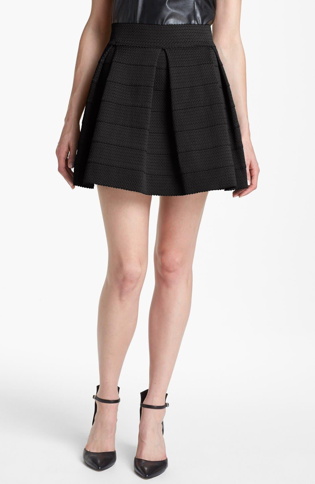 Pleated Skirt,                             Main thumbnail 1, color,                             001