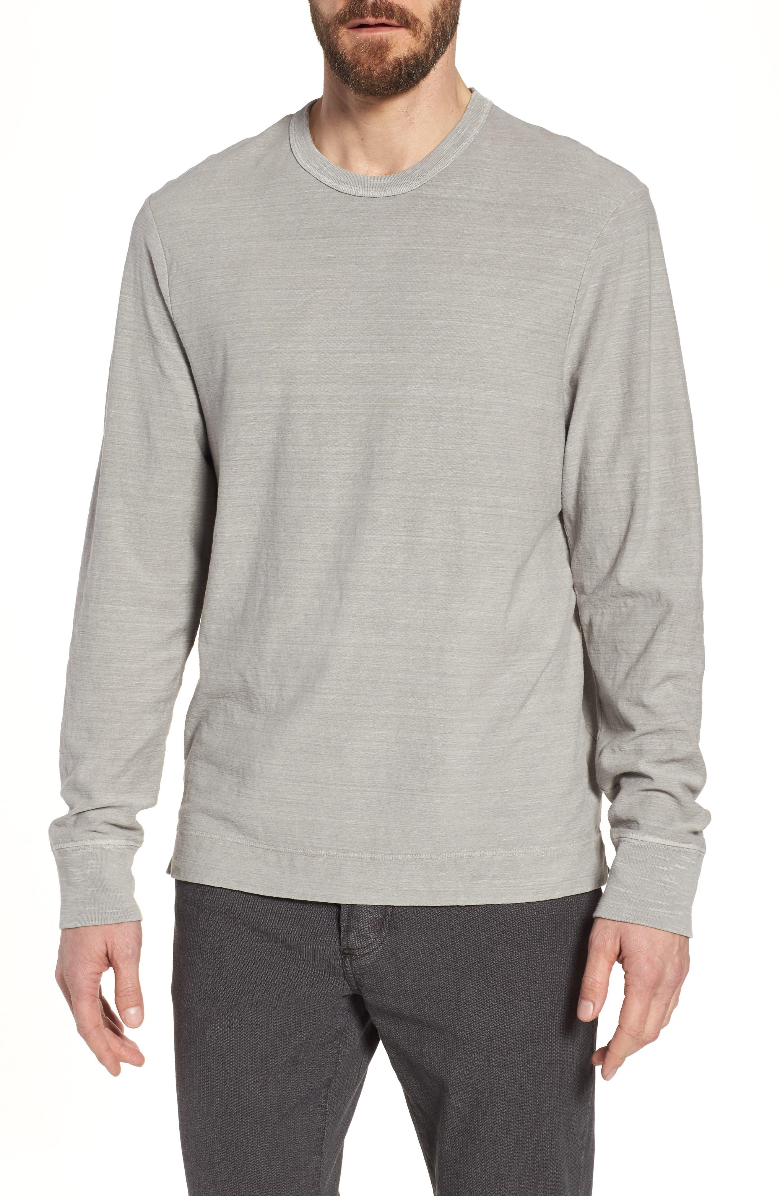Regular Fit Slub Crewneck T-Shirt,                         Main,                         color, 056