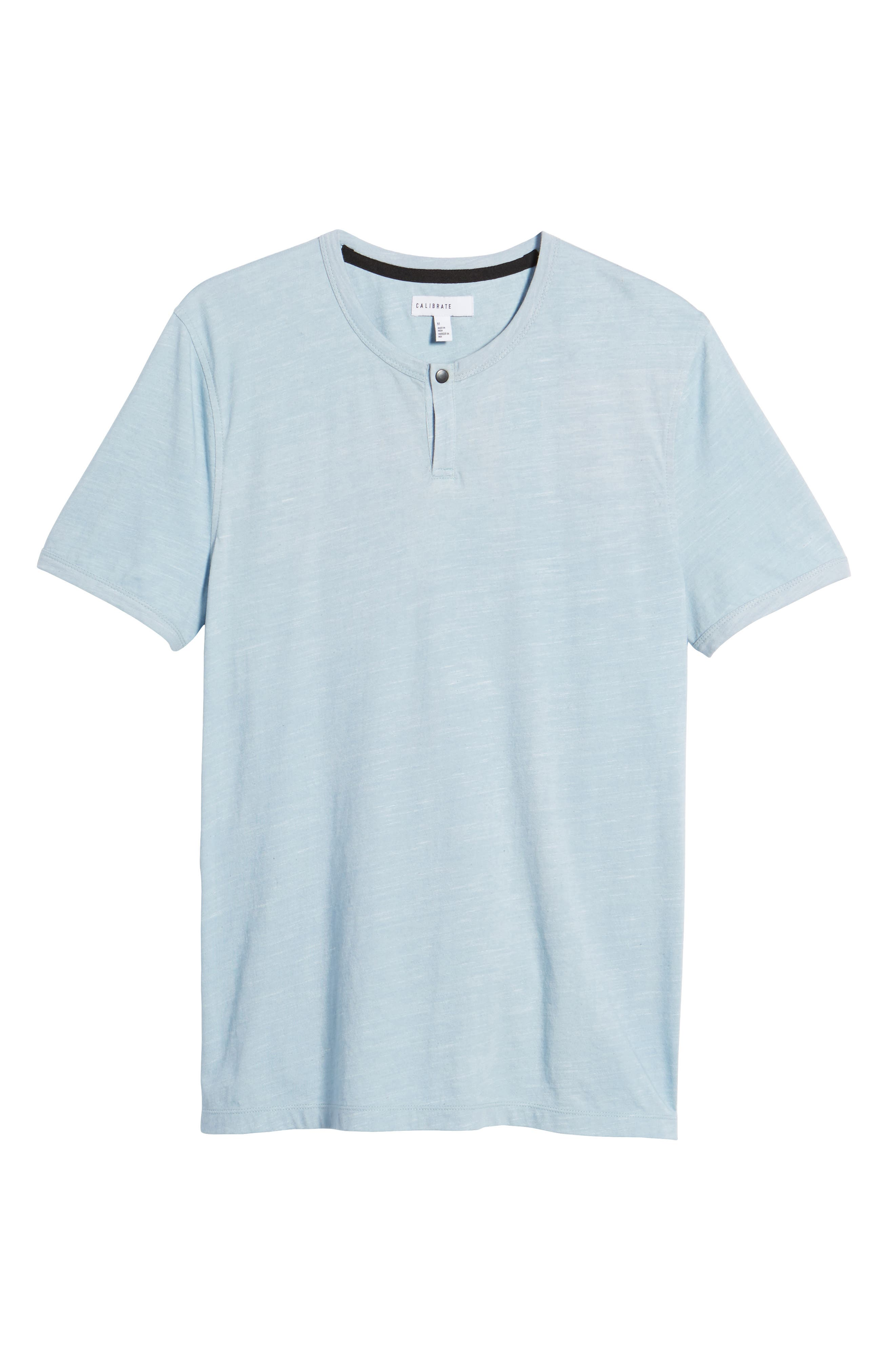 Space Dyed One-Button Henley T-Shirt,                             Alternate thumbnail 28, color,
