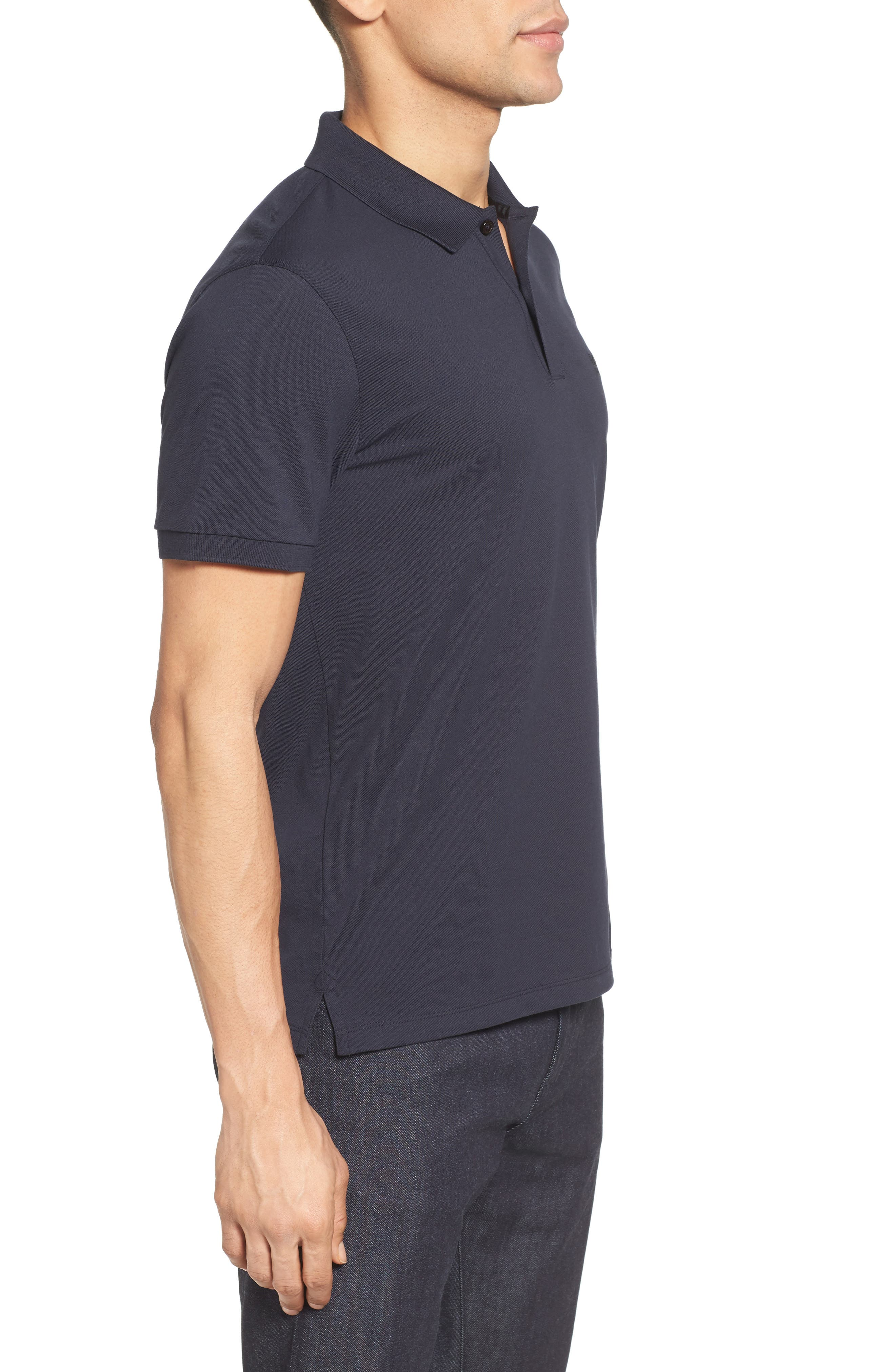 'Pallas' Regular Fit Logo Embroidered Polo Shirt,                             Alternate thumbnail 42, color,
