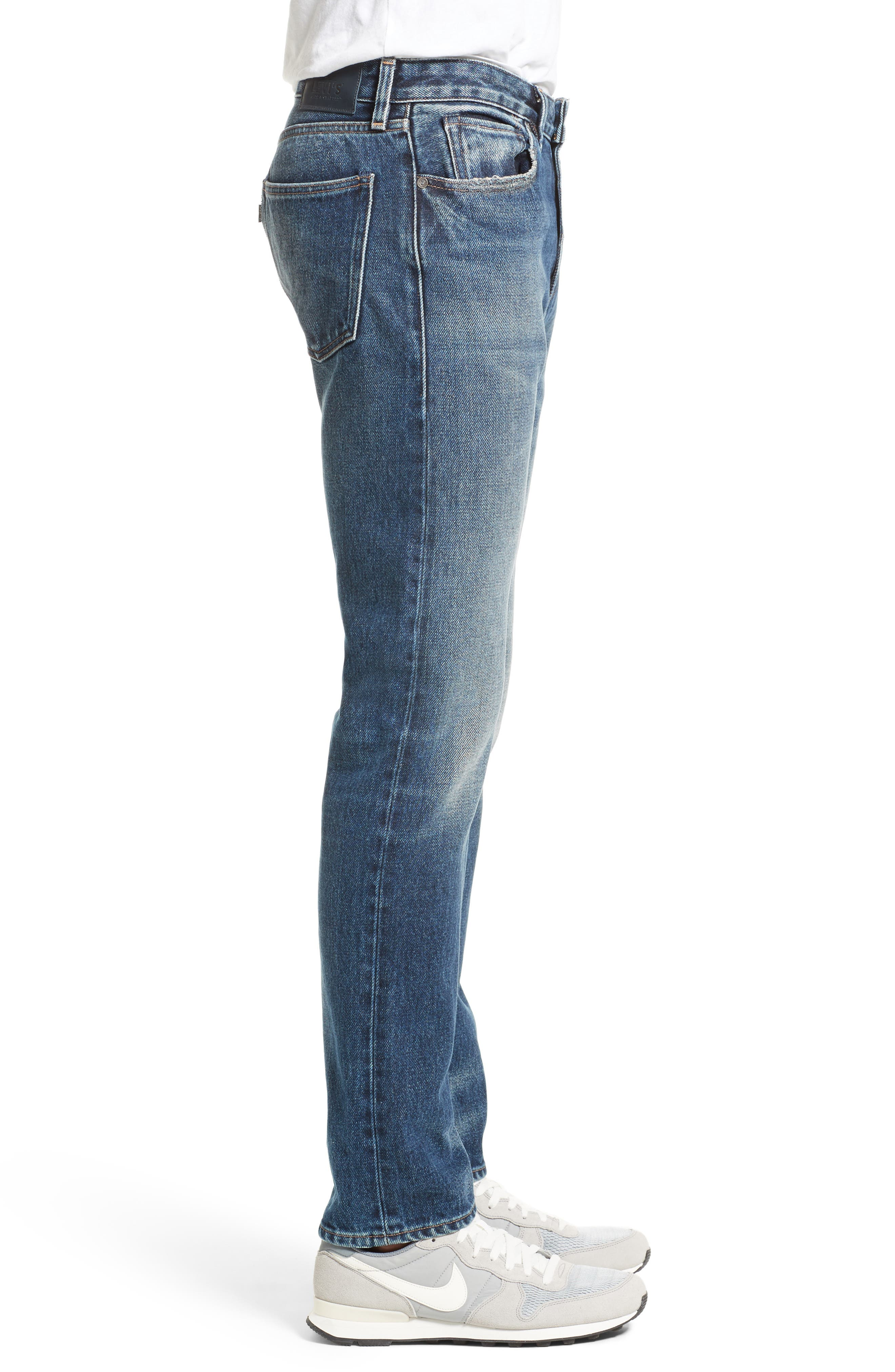 Tack Slim Fit Jeans,                             Alternate thumbnail 3, color,                             420