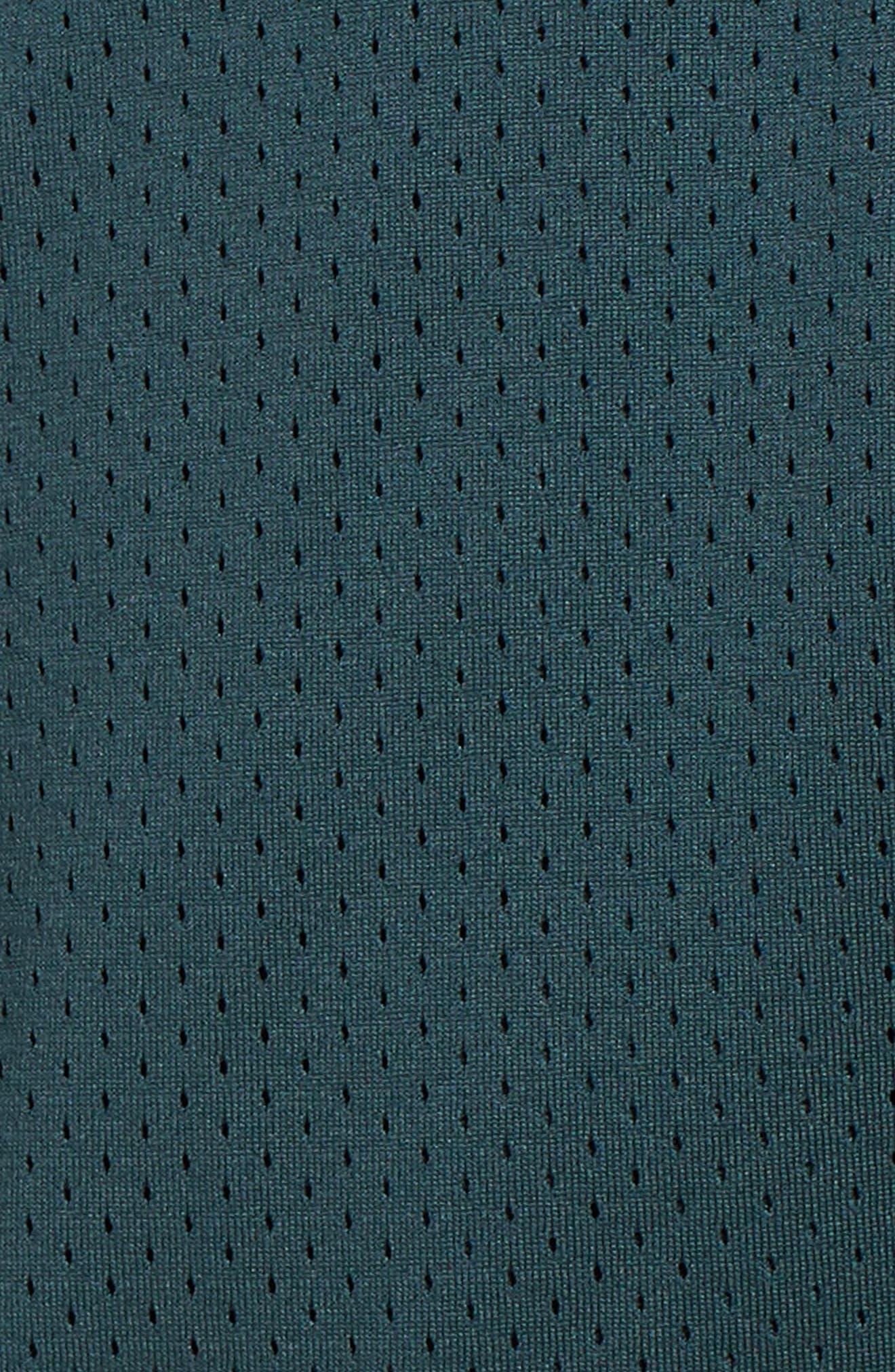 SB Dry Heritage Court Shorts,                             Alternate thumbnail 5, color,                             DEEP JUNGLE/ BLACK