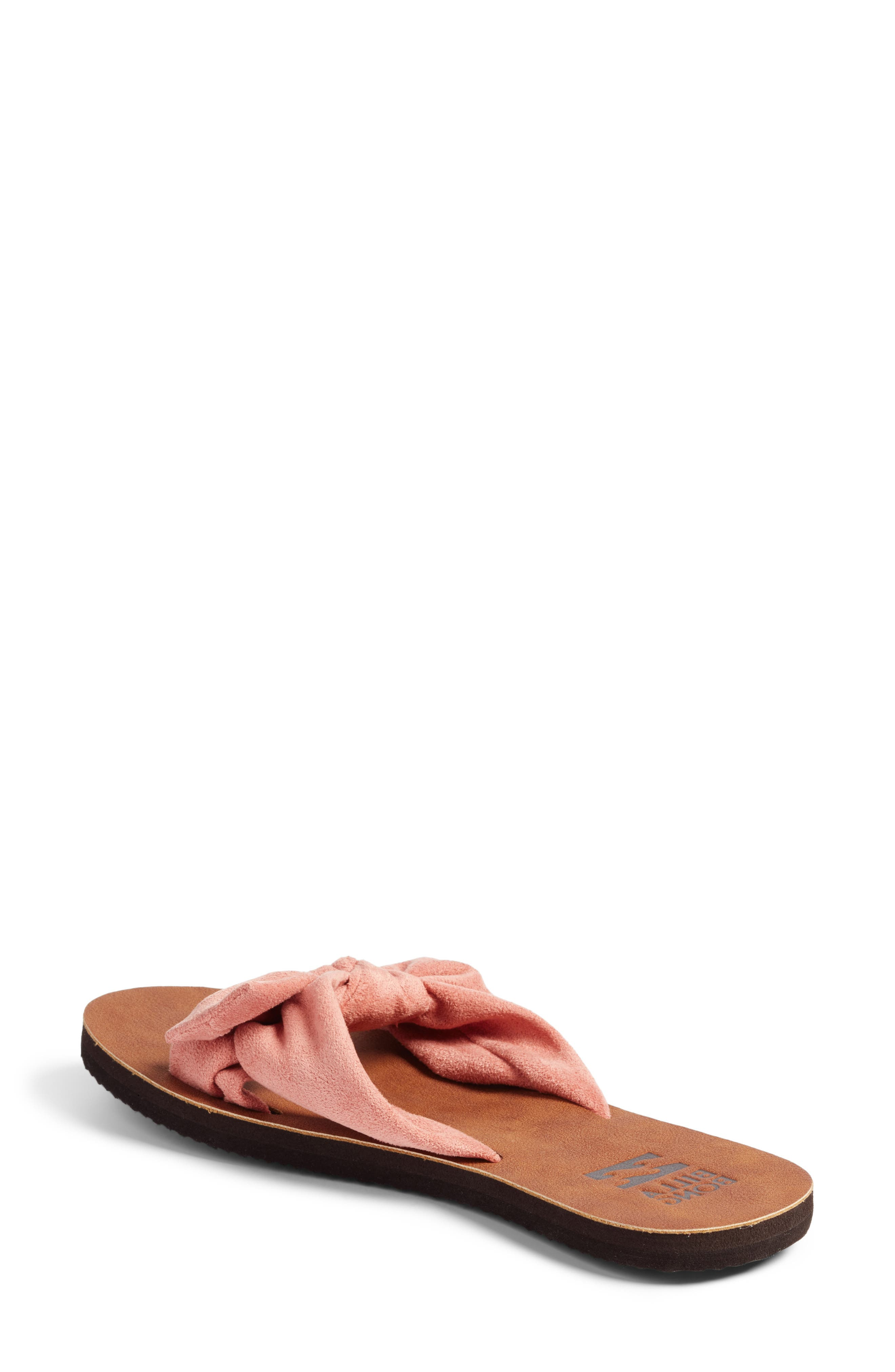 Tied-Up Slide Sandal,                             Alternate thumbnail 4, color,