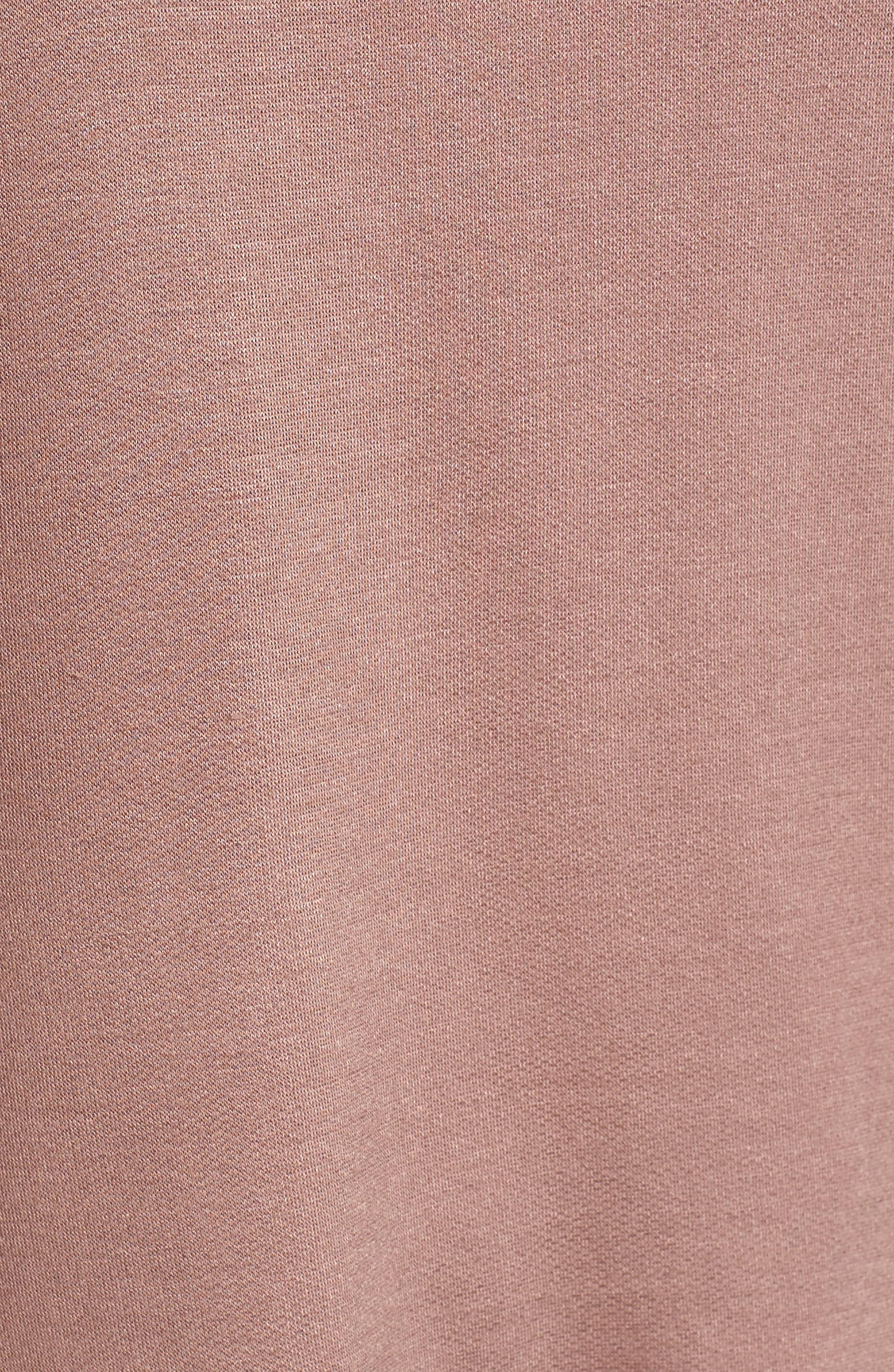 High/Low Cold Shoulder Sweatshirt,                             Alternate thumbnail 18, color,