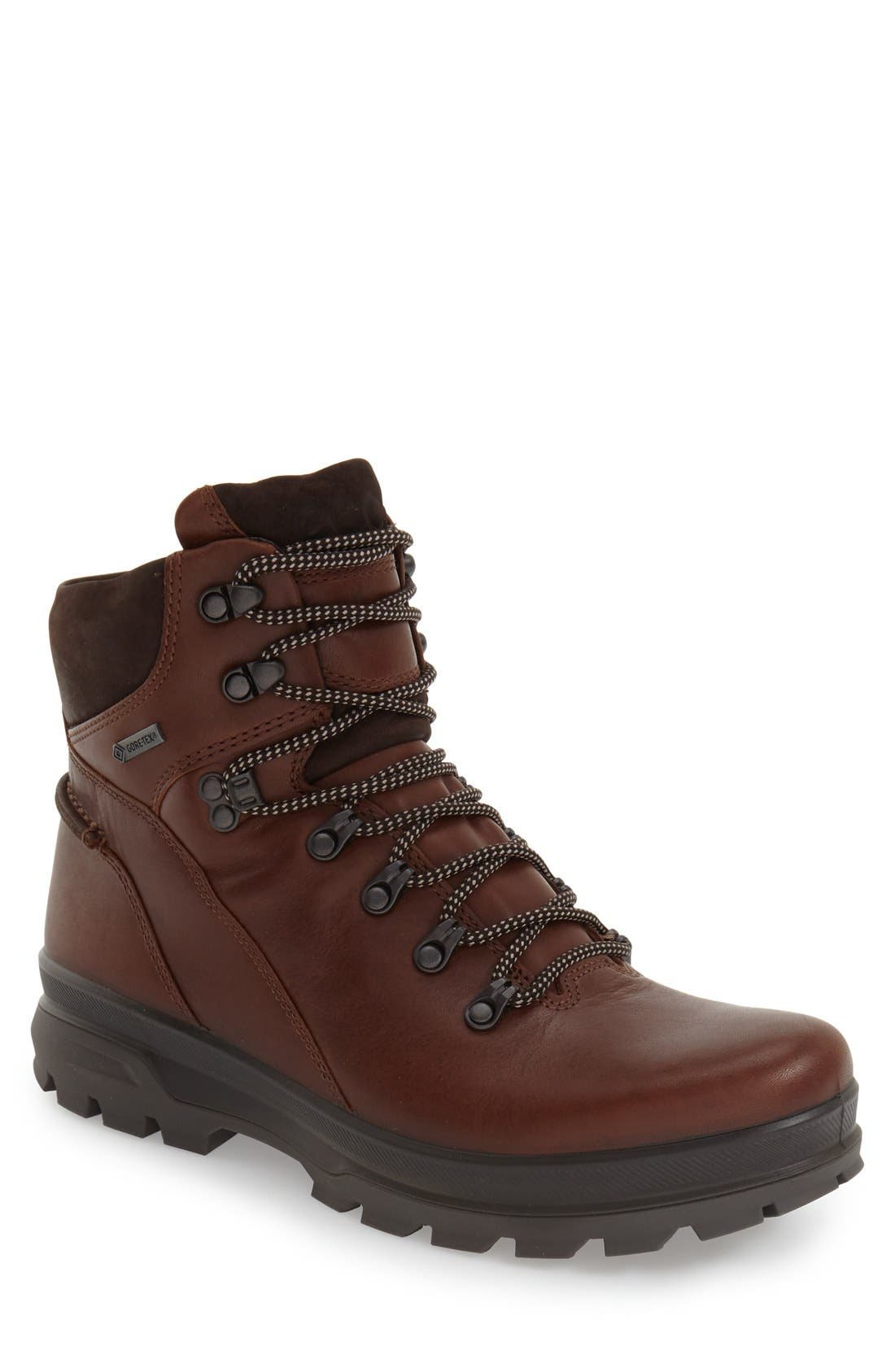 'Rugged Track GTX' Hiking Boot,                             Main thumbnail 1, color,                             BISON/ MOCHA LEATHER