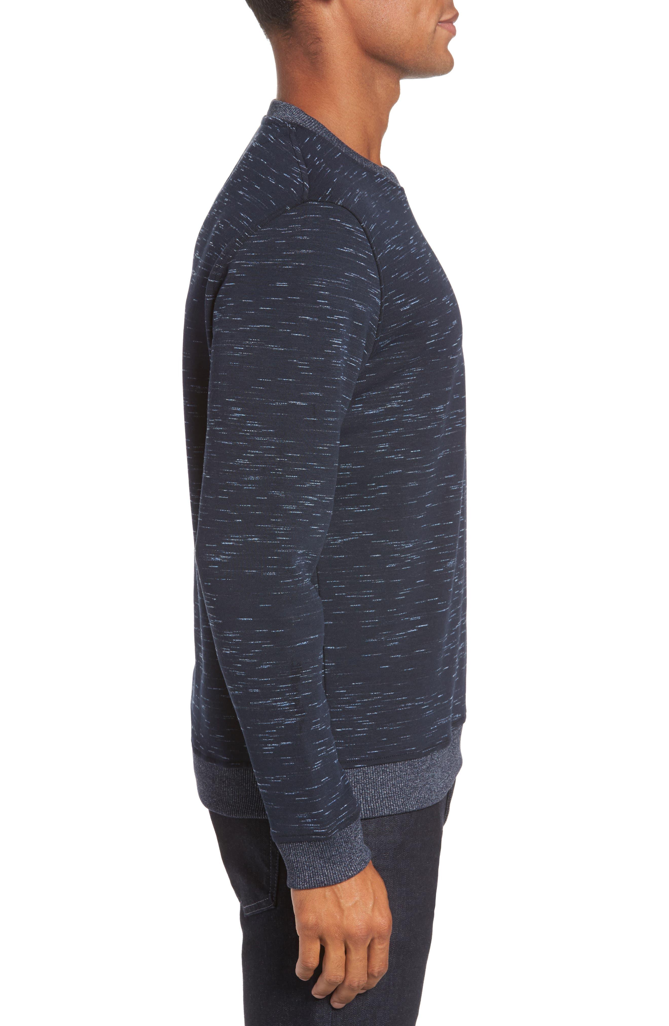 Bepay Jersey Sweatshirt,                             Alternate thumbnail 3, color,                             410