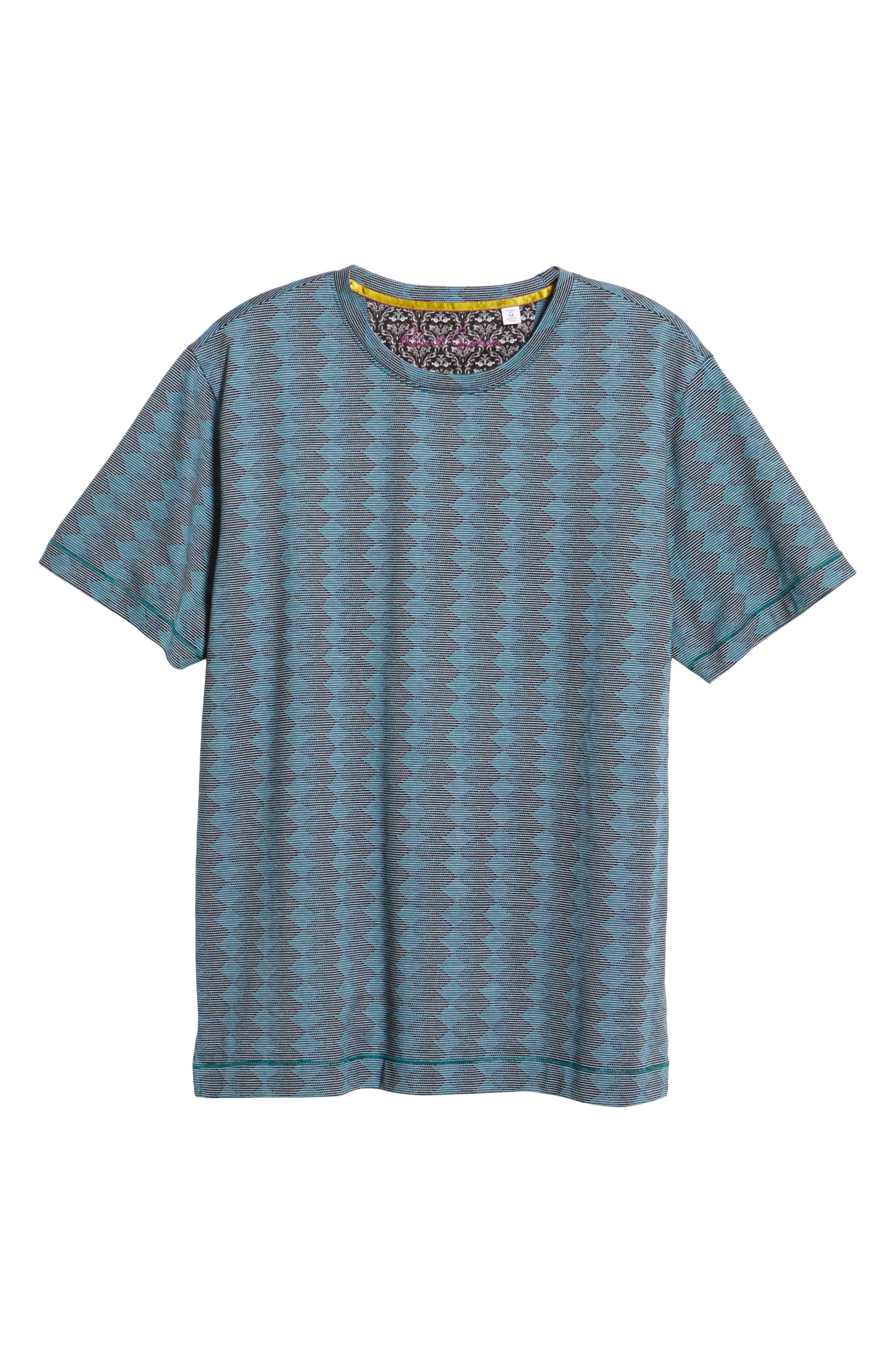 Philippe T-Shirt,                             Alternate thumbnail 6, color,                             TEAL