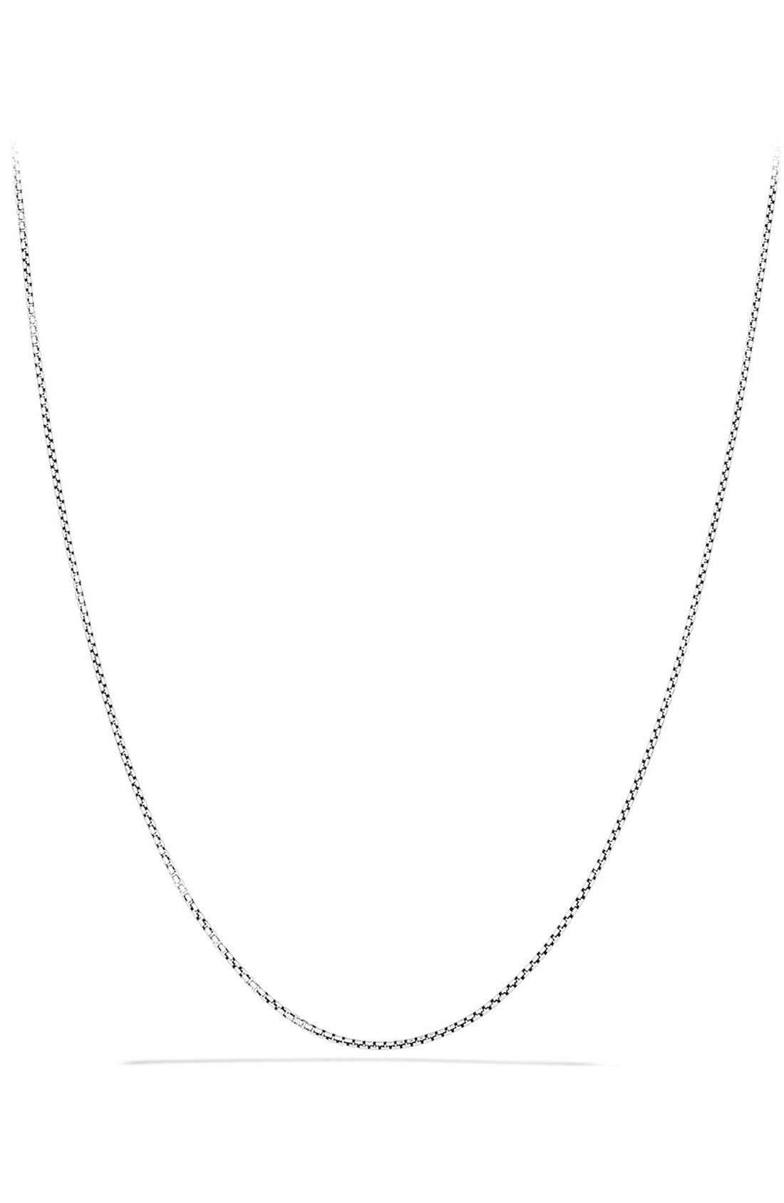 'Chain' Baby Box Chain Necklace,                             Main thumbnail 1, color,                             TWO TONE