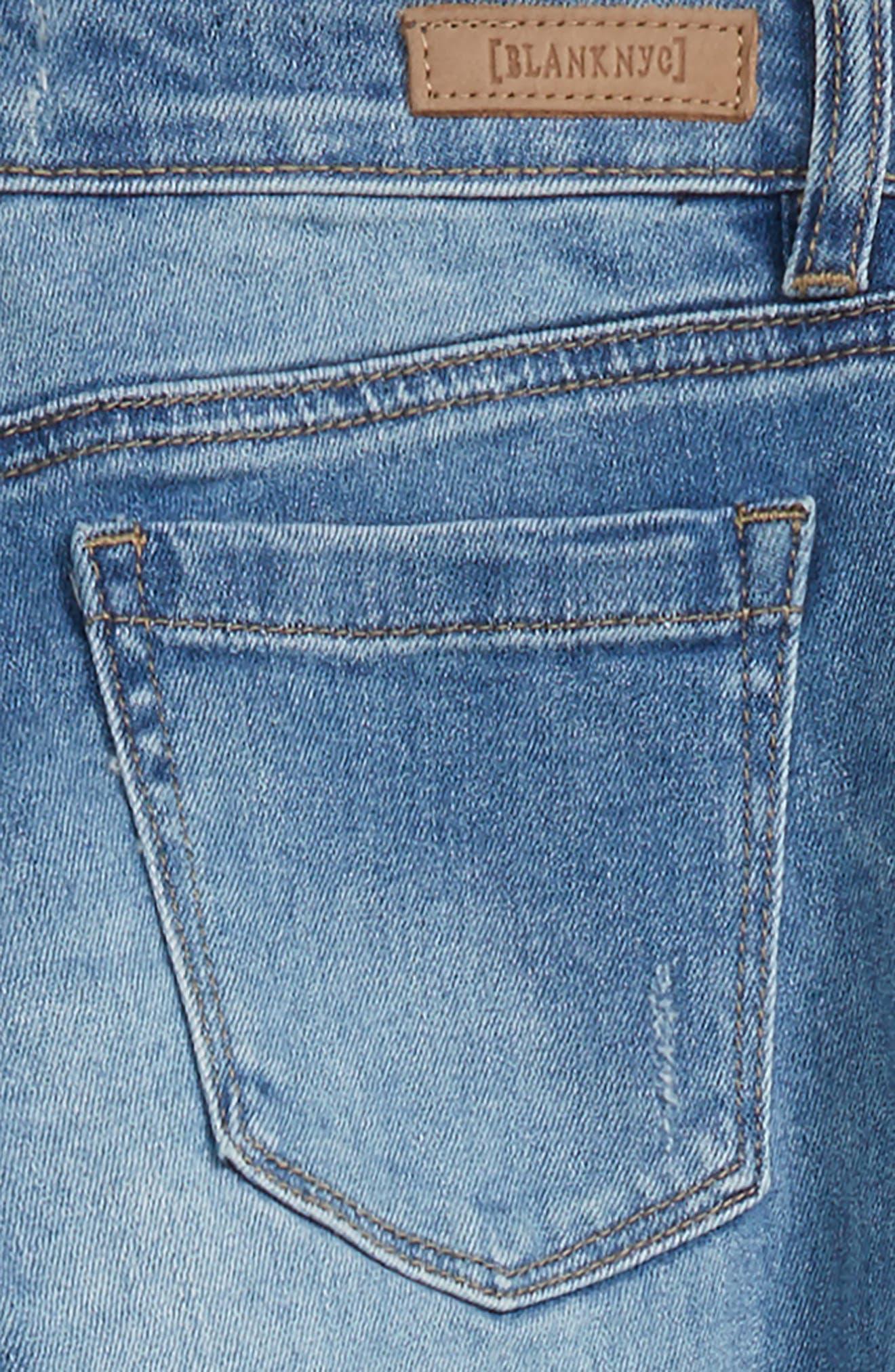 Ripped Boyfriend Jeans,                             Alternate thumbnail 3, color,                             400