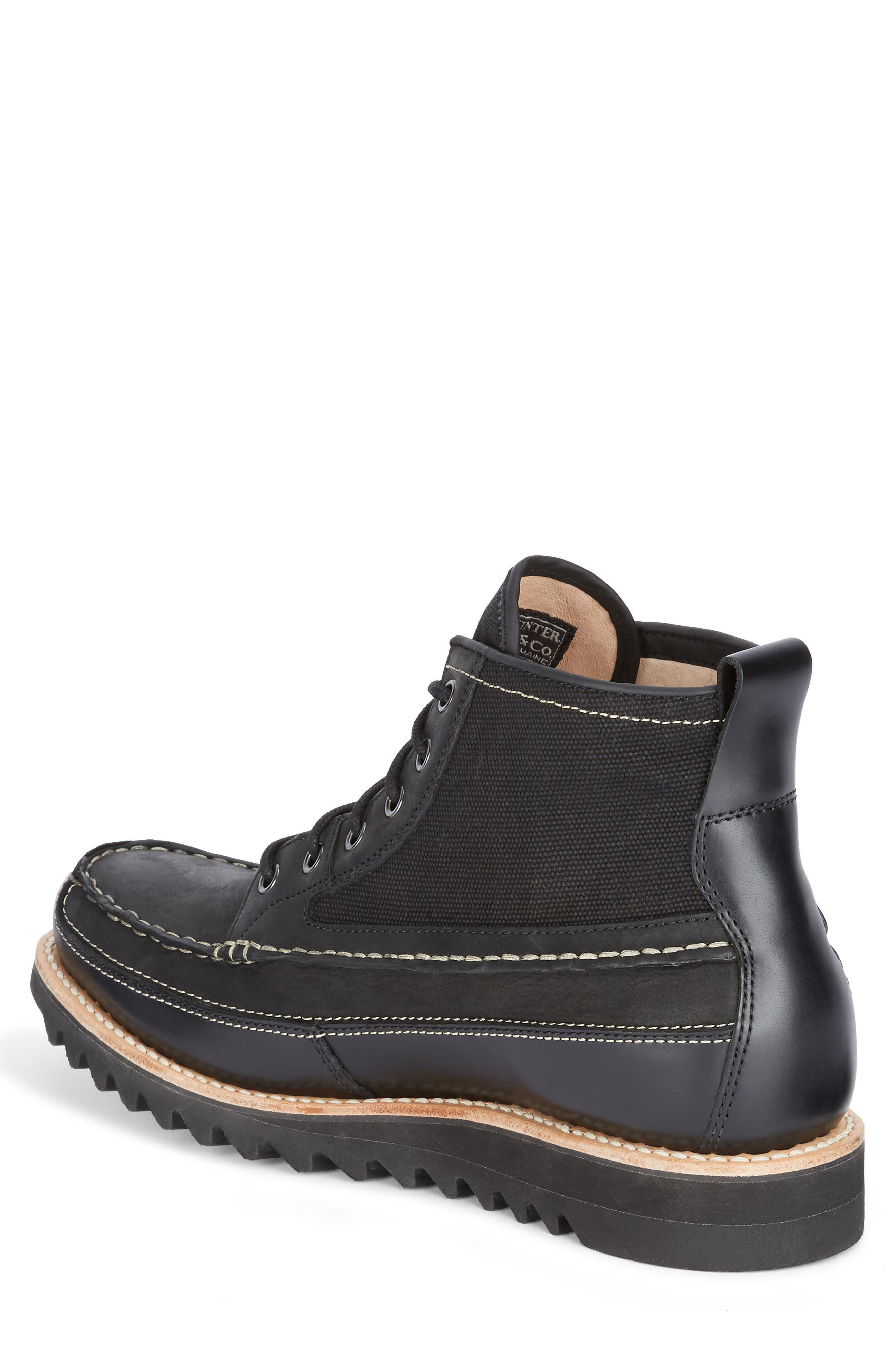 Nickson Razor Moc Toe Boot,                             Alternate thumbnail 2, color,                             001