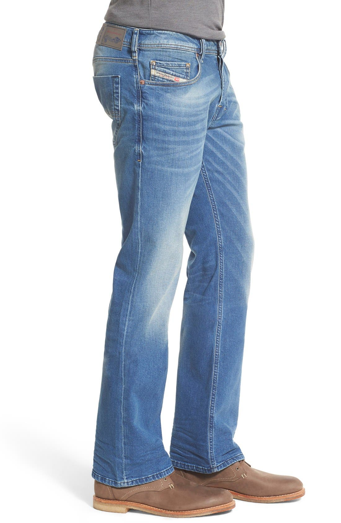 'Zatiny' Bootcut Jeans,                             Alternate thumbnail 4, color,                             400