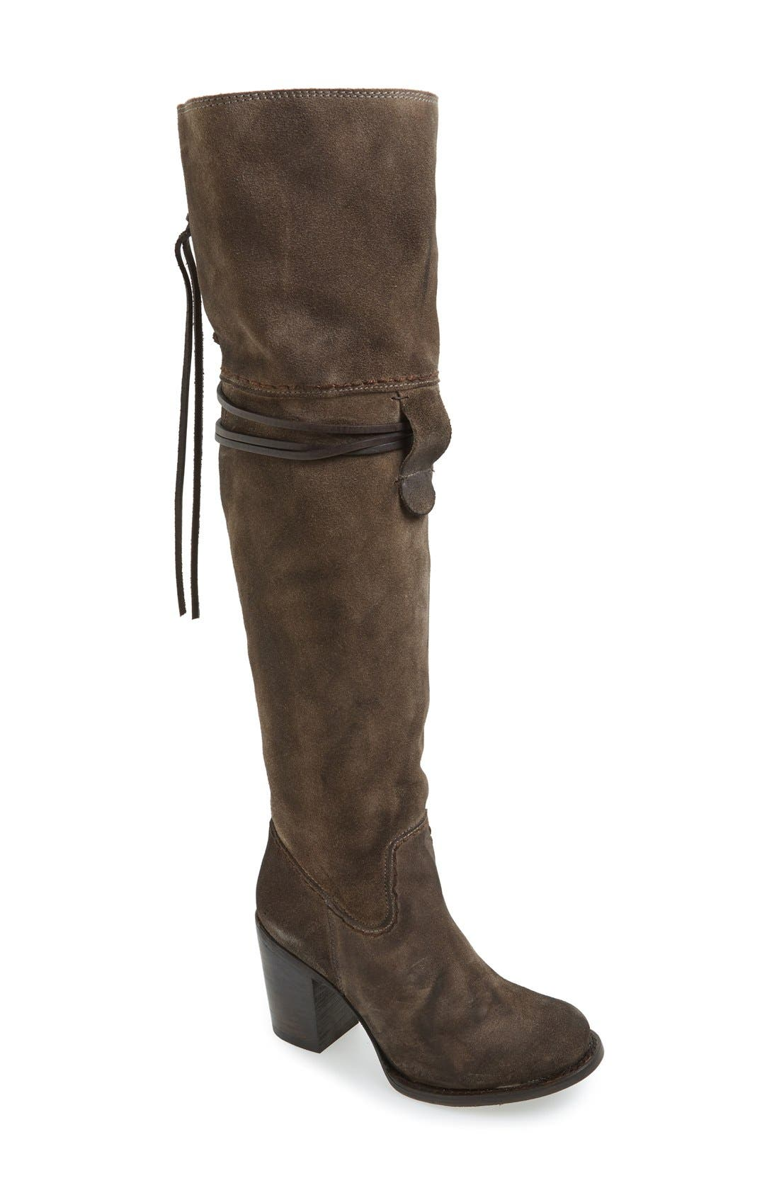 Brock Over the Knee Boot,                             Main thumbnail 1, color,                             020