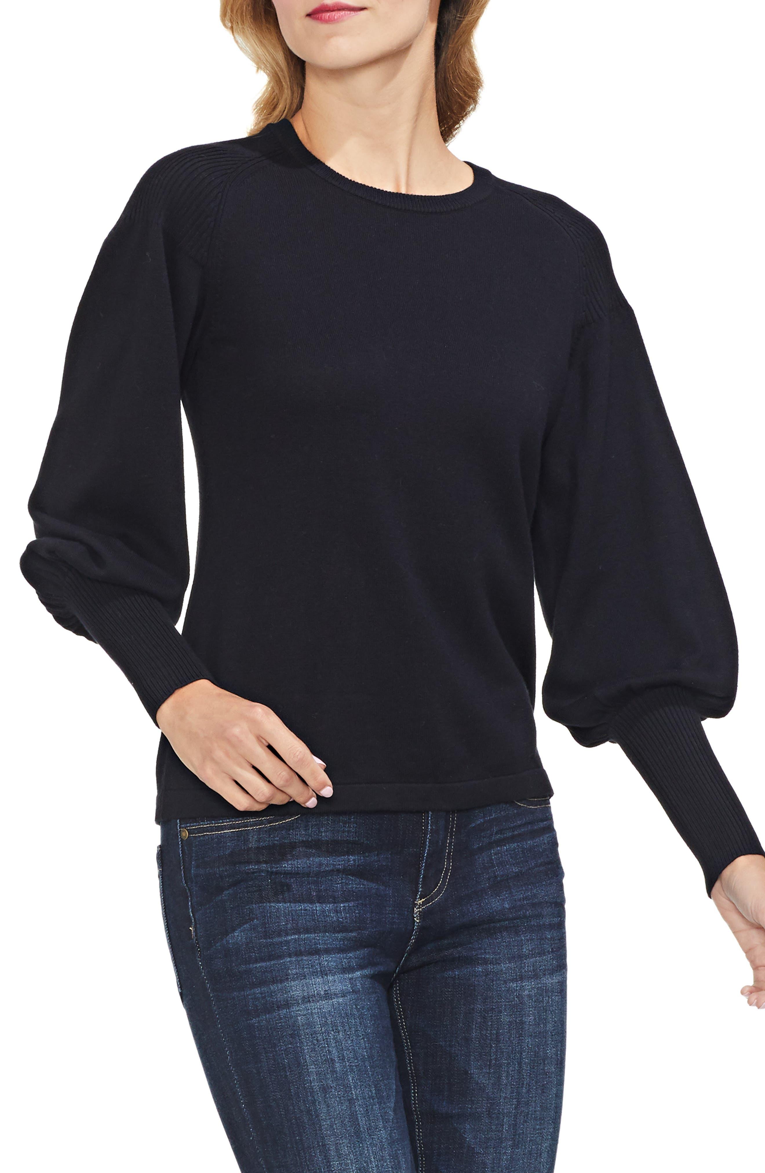 Blouson Sleeve Sweater,                             Main thumbnail 1, color,                             006
