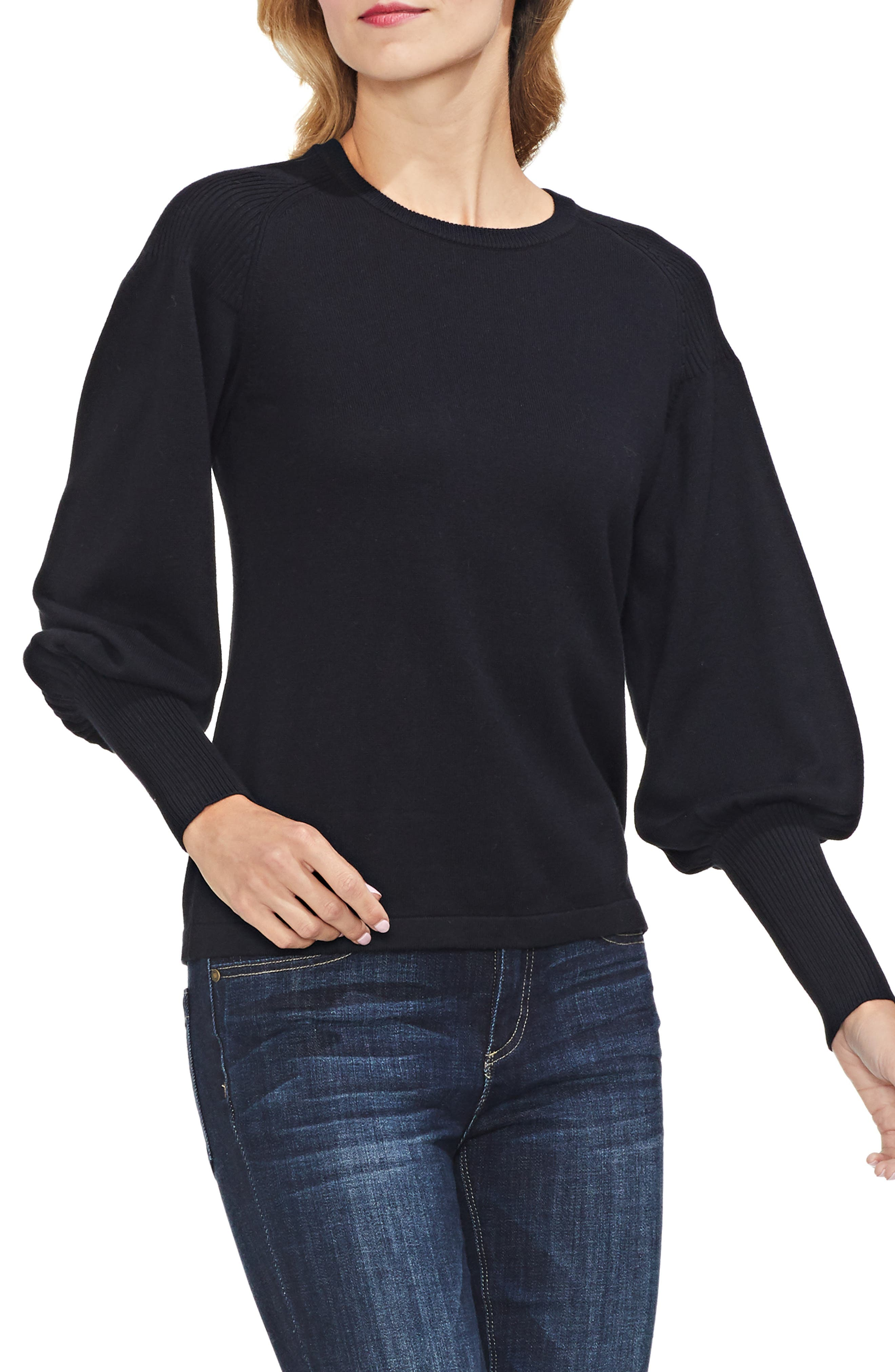 Blouson Sleeve Sweater,                         Main,                         color, 006