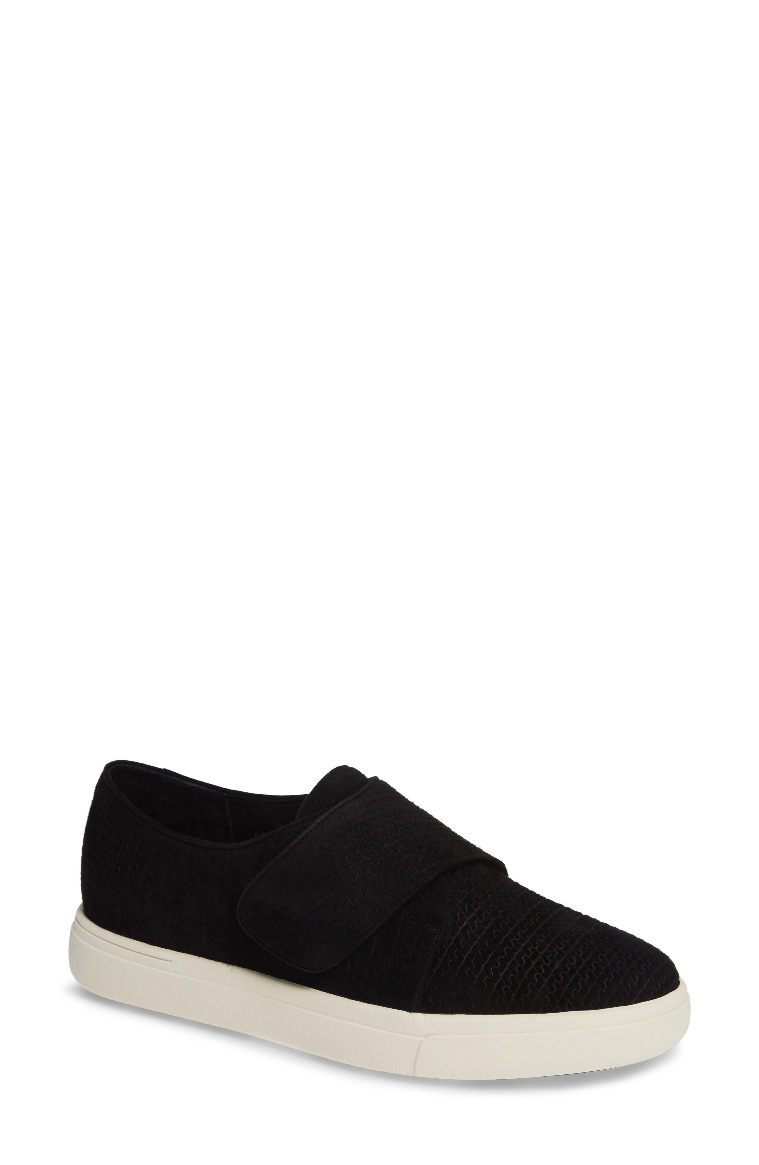 VANELI Oberon Slip-On Sneaker, Main, color, BLACK SUEDE
